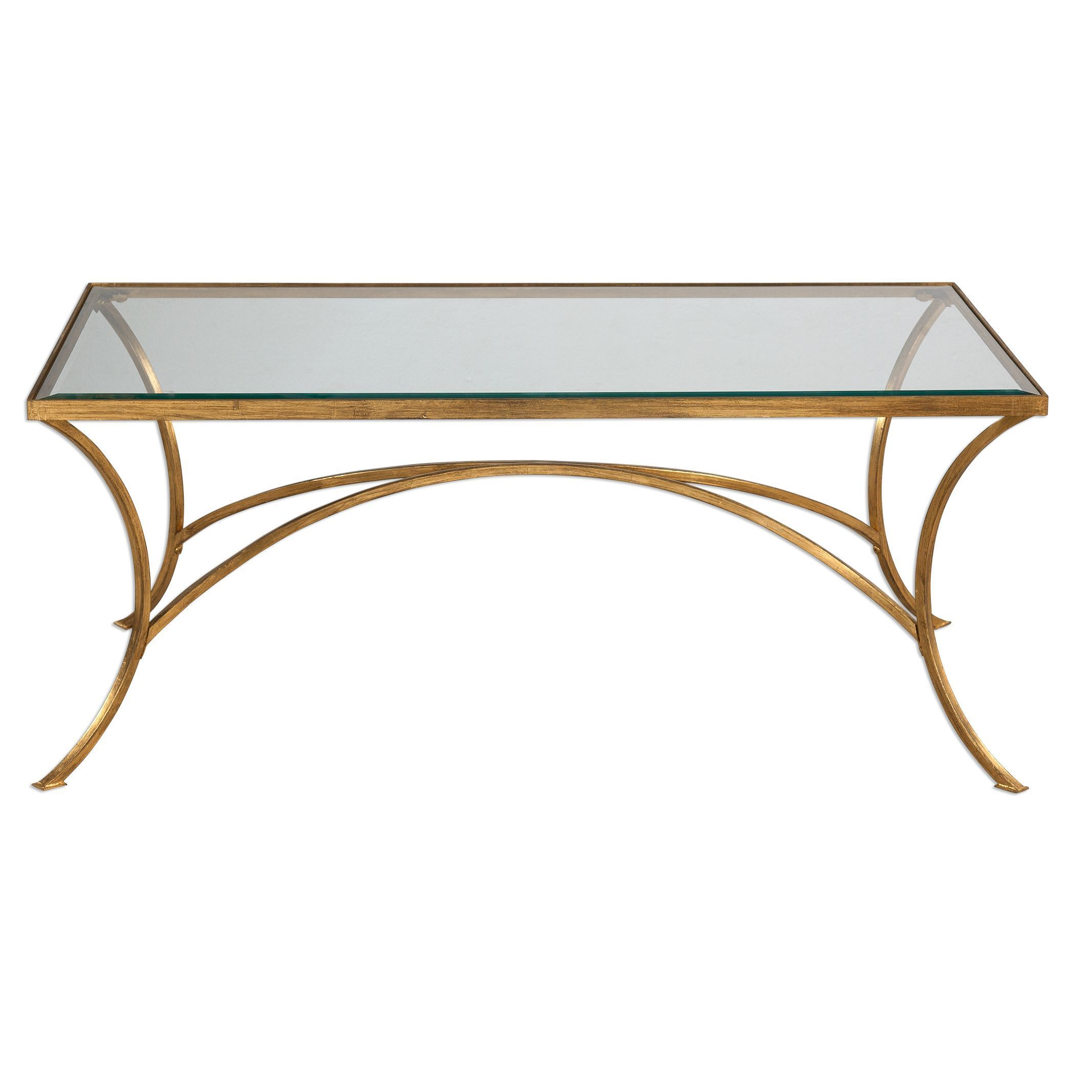 Uttermost Alayna Gold Coffee Table Free Shipping Today