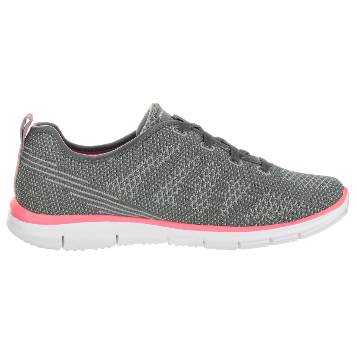 03d0bfb53cda Shop Skechers Women s Glider-Forever Young Grey Textile Casual Shoes - Free  Shipping On Orders Over  45 - Overstock - 13746918