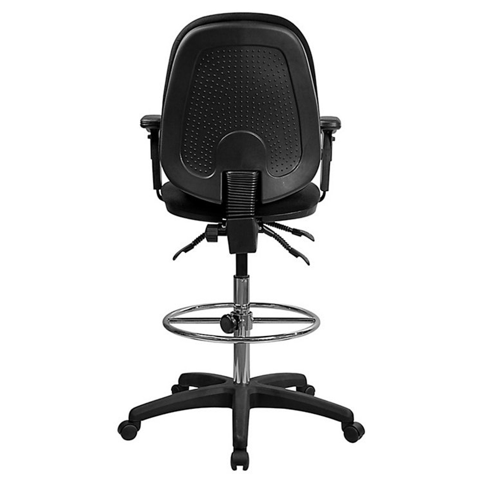 office drafting chair. Black Fabric Multifunctional Office Drafting Chair - Free Shipping Today Overstock 20420508