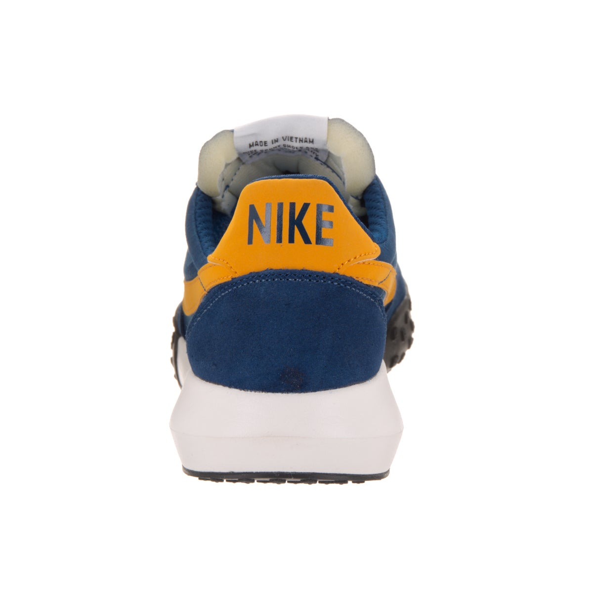 446893ca1bd88 Shop Nike Men s Roshe Waffle Racer NM Coast Blue and Gold Leaf Suede  Training Shoes - Free Shipping Today - Overstock - 13768177