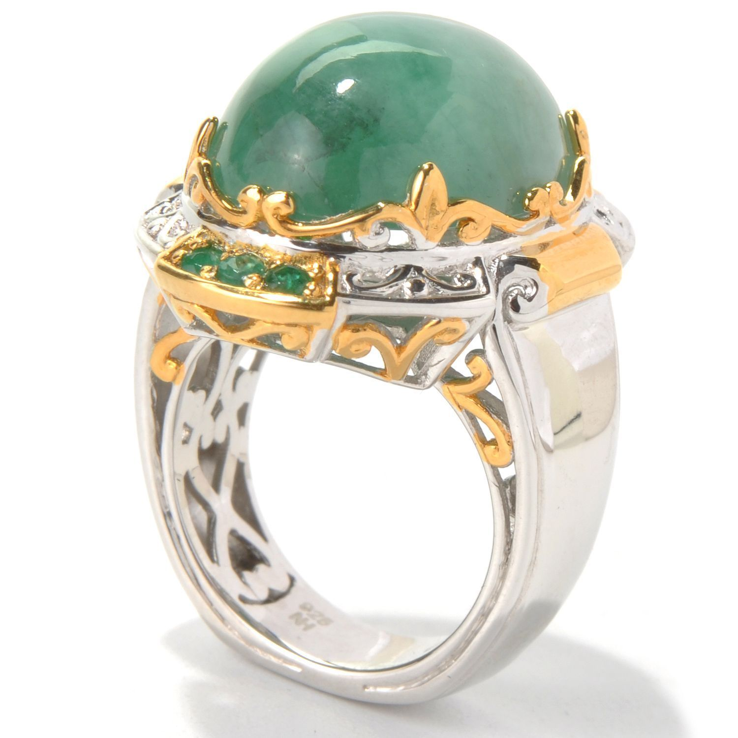 in with green wide hei ring jade fit fmt cabochon ed peretti id jewelry constrain mm elsa wid gold rings m