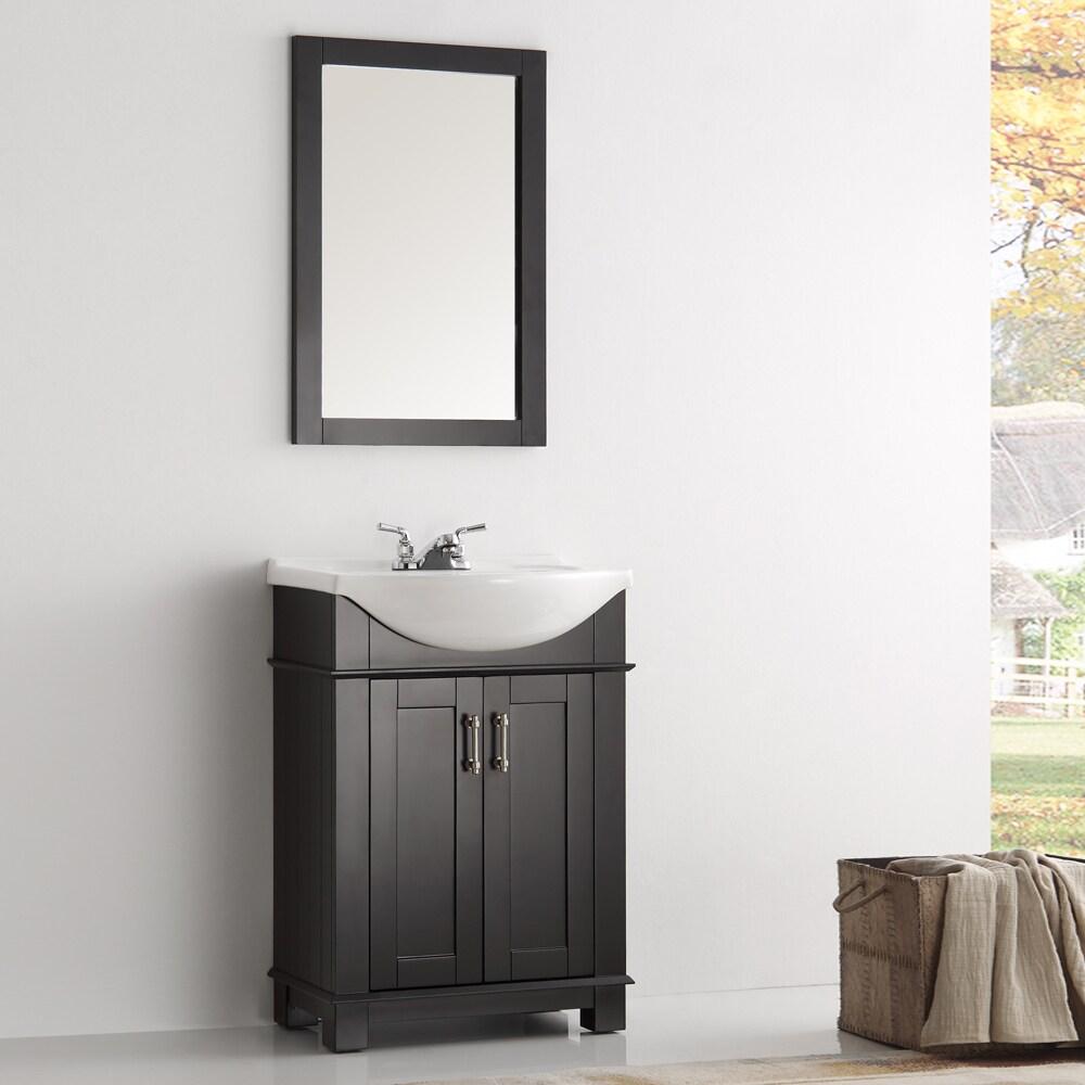 traditional black bathroom. Fresca Hartford Black Wood 24inch Traditional Bathroom Vanity - Free Shipping Today Overstock 20423203 S