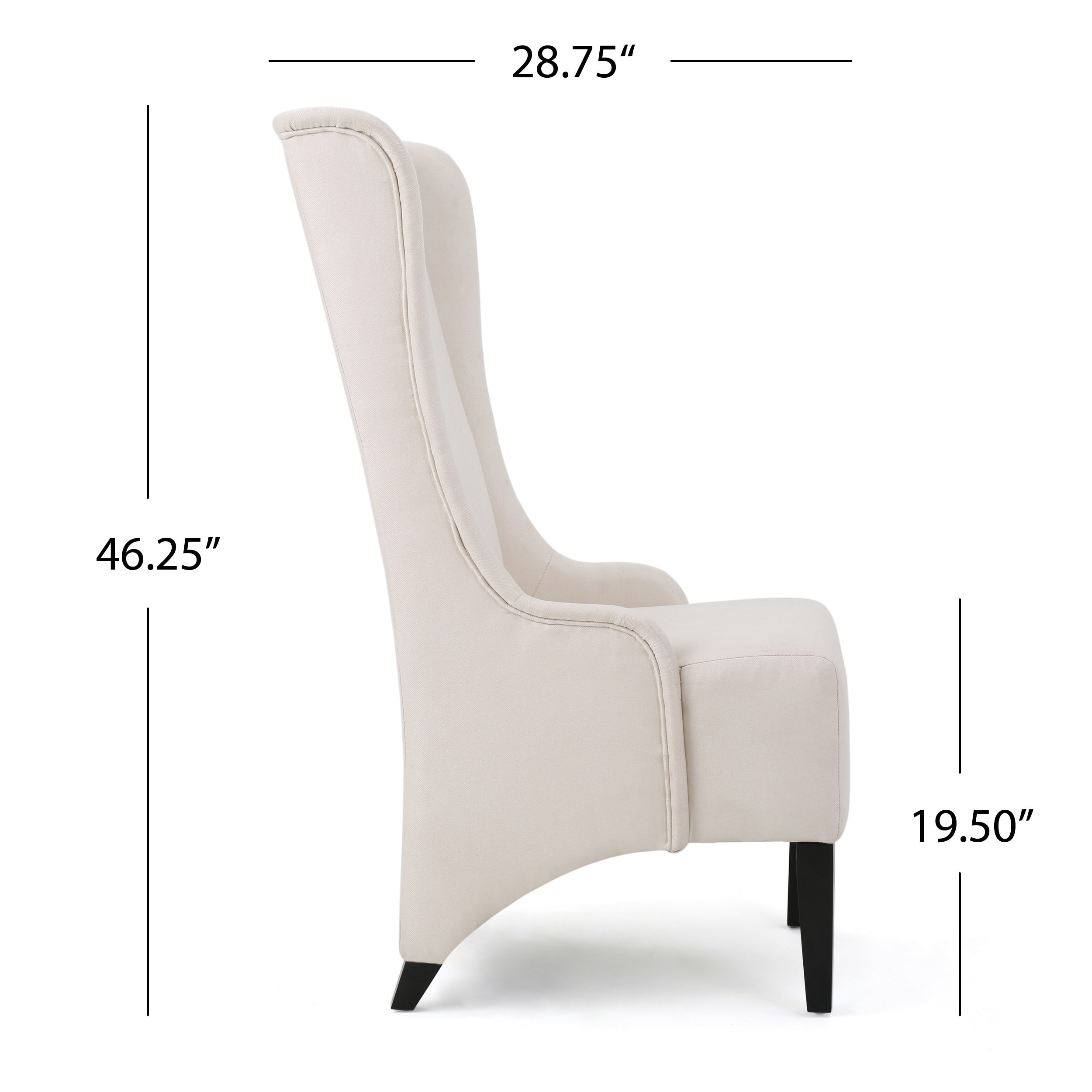 Favorite Callie High Back Fabric Dining Chair by Christopher Knight Home  GF28
