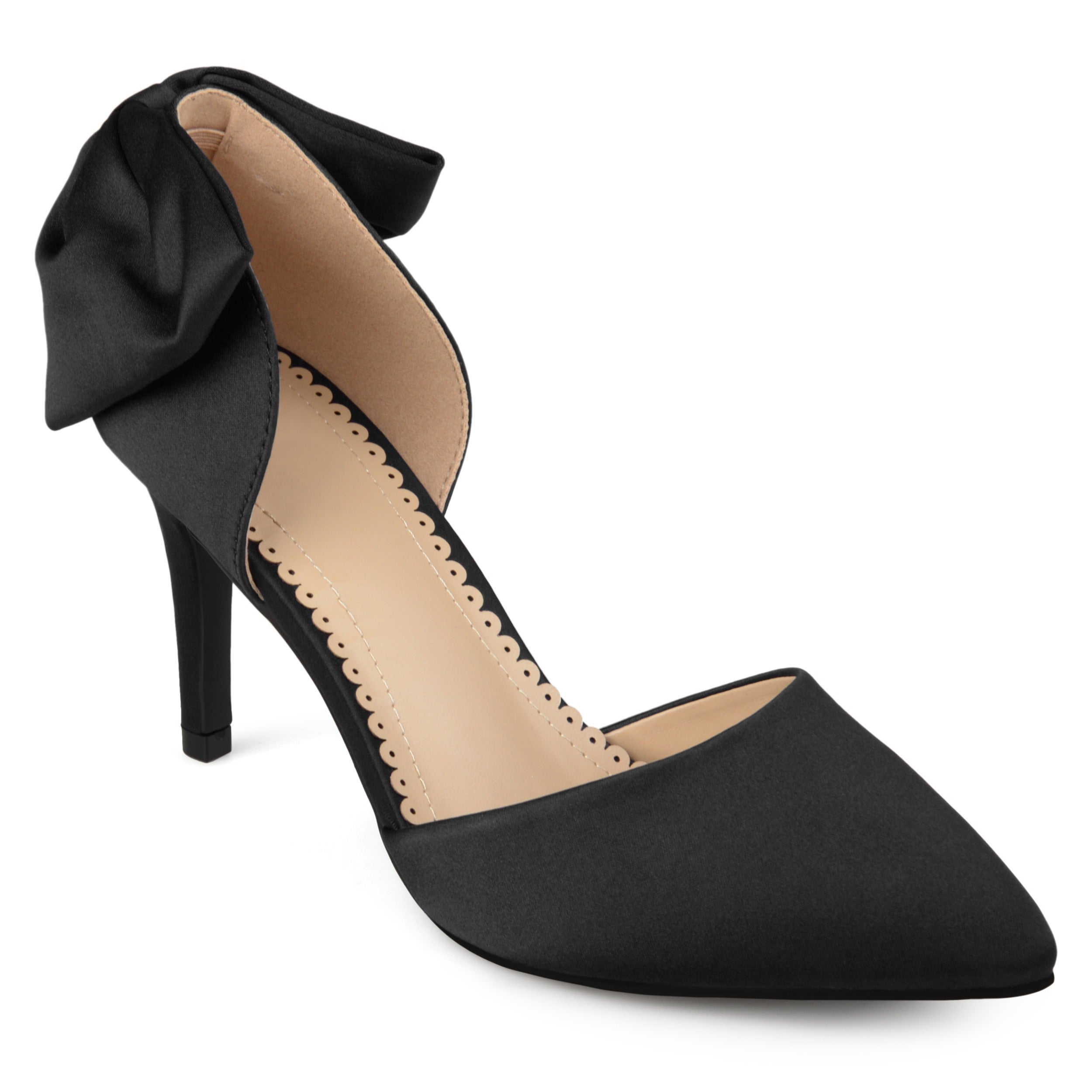 908ab11da71b5a Shop Journee Collection Women's 'Tanzi' Bow Pointed Toe D'orsay ...