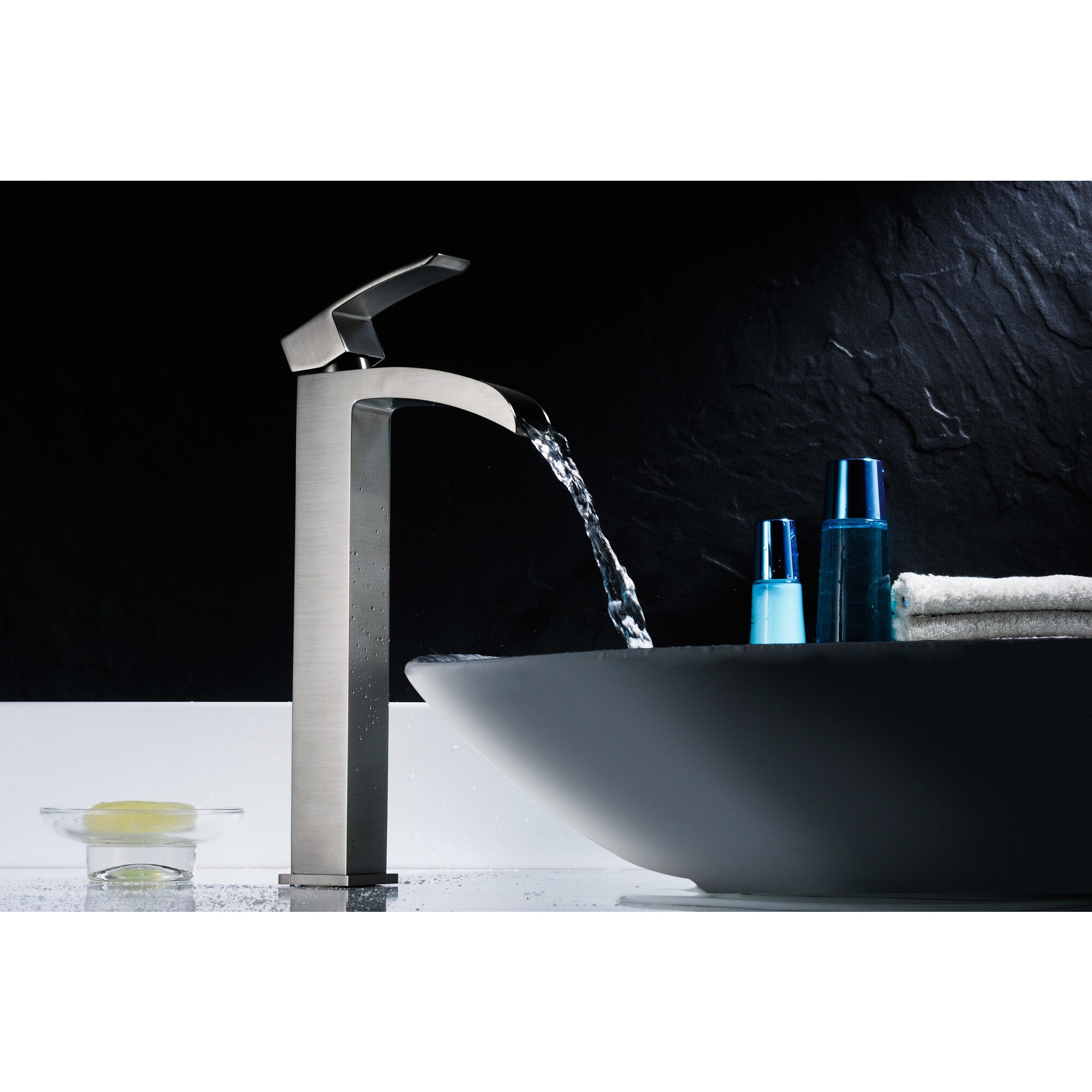Shop ANZZI Key Series Single Hole Single-handle Vessel Bathroom ...
