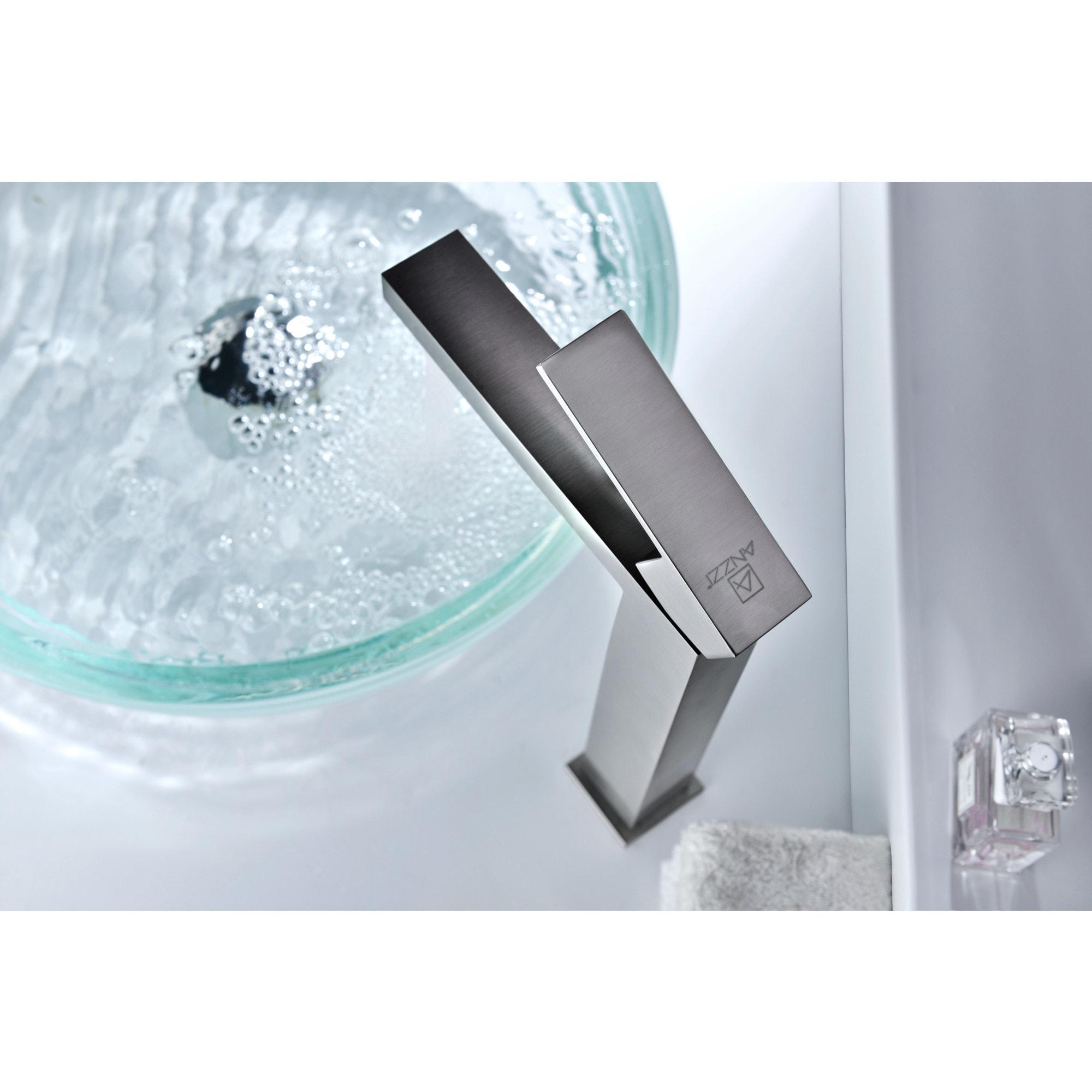 ANZZI Enti Series Single Hole Single-handle Vessel Bathroom Faucet ...