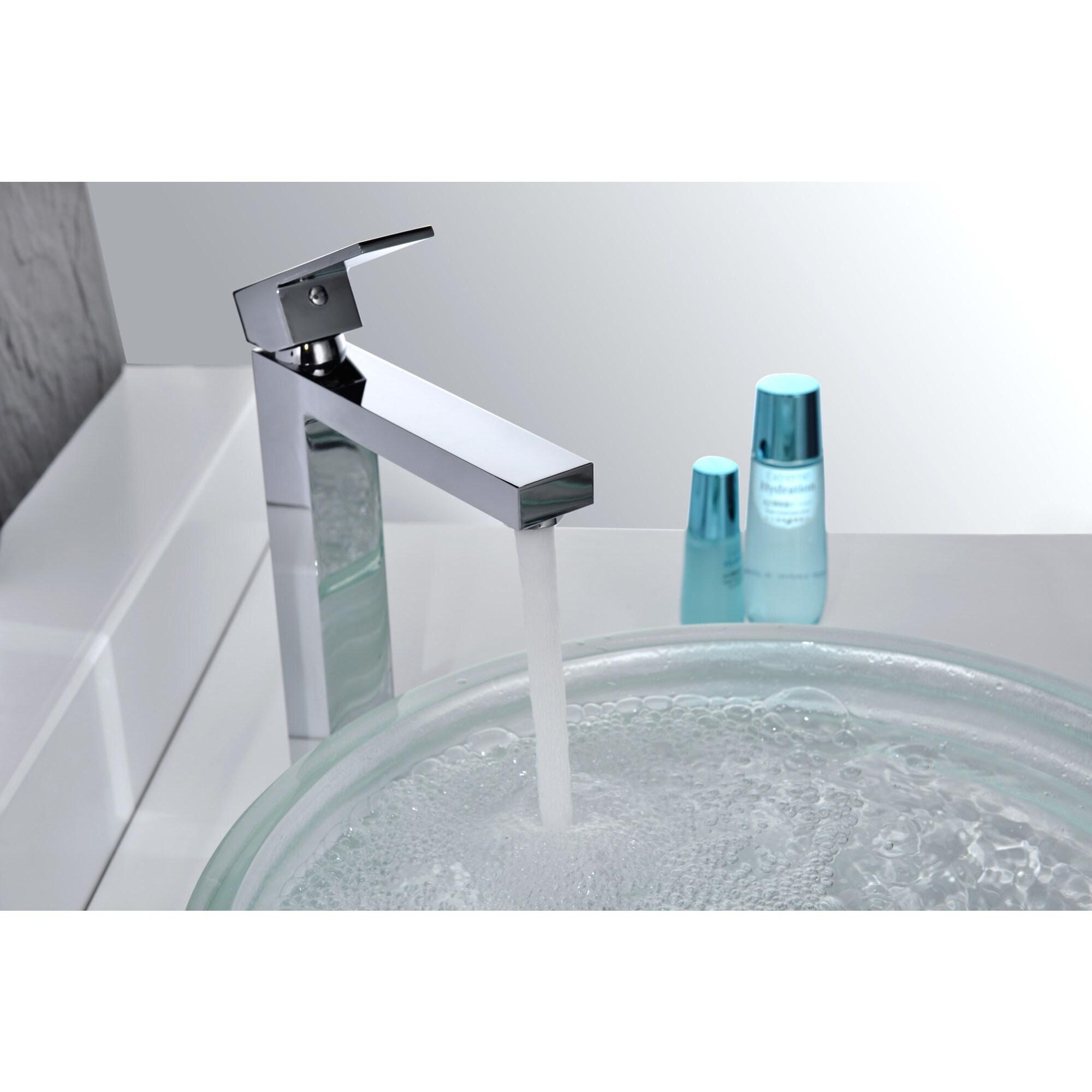 Shop ANZZI Enti Series Single Hole Single-handle Vessel Bathroom ...