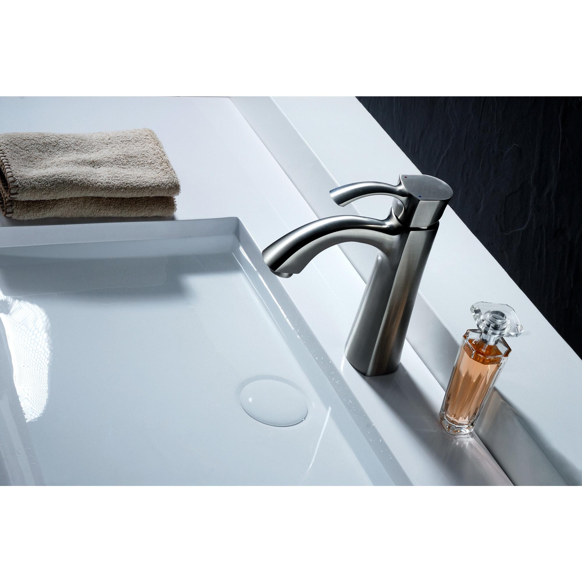 Shop ANZZI Rhythm Series Single Hole Single-handle Mid-arc Bathroom ...