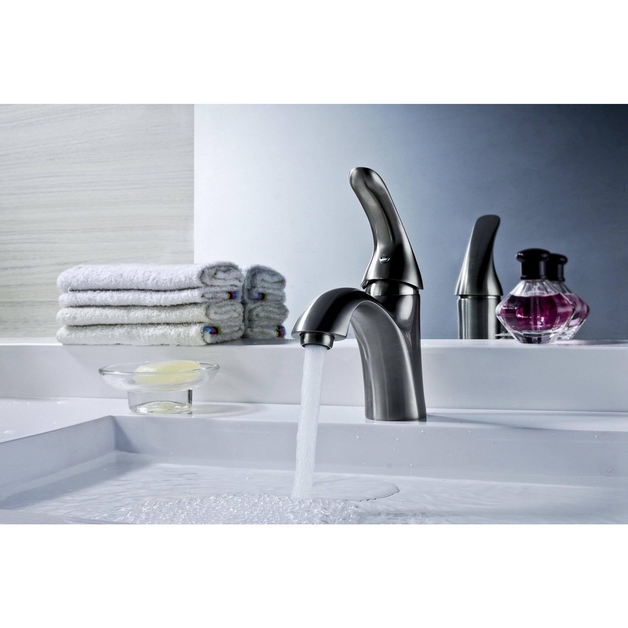 Shop ANZZI Clavier Series Single Hole Single-handle Mid-arc Bathroom ...