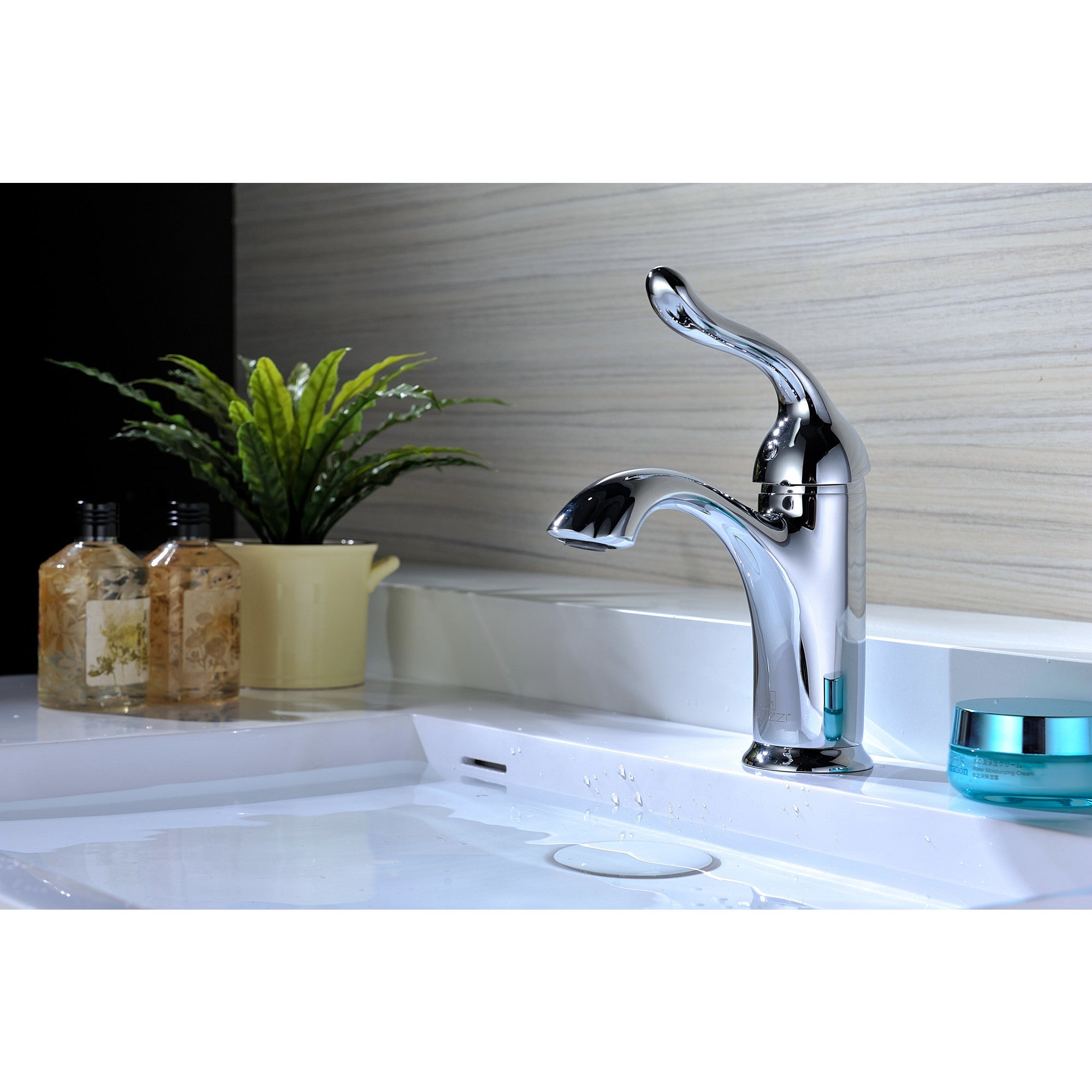 ANZZI Arc Single Hole Single-handle Low-arc Bathroom Faucet in ...