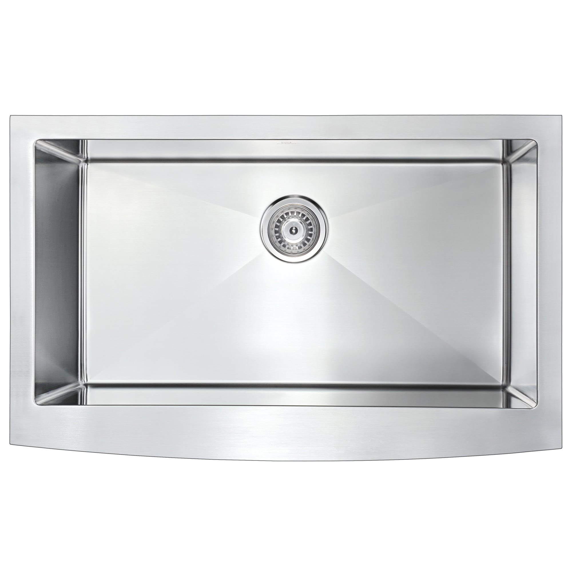 anzzi elysian farmhouse stainless steel 36 inch undermount kitchen rh overstock com Farmhouse Kitchen Sinks Stainless 36 inch double bowl undermount kitchen sink