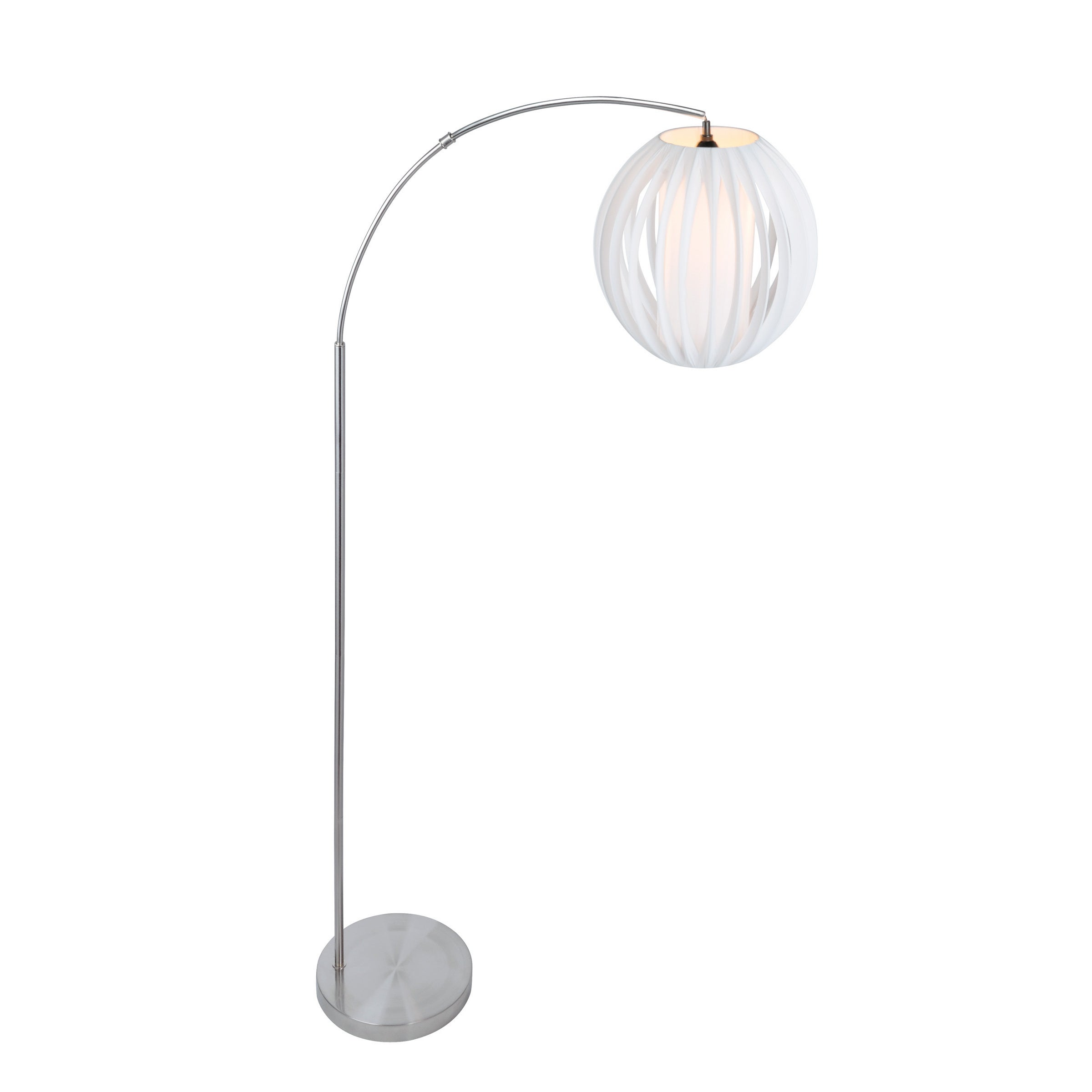 Lite Source 1 Light Deion Floor Arch Lamp On Free Shipping Today 13777444