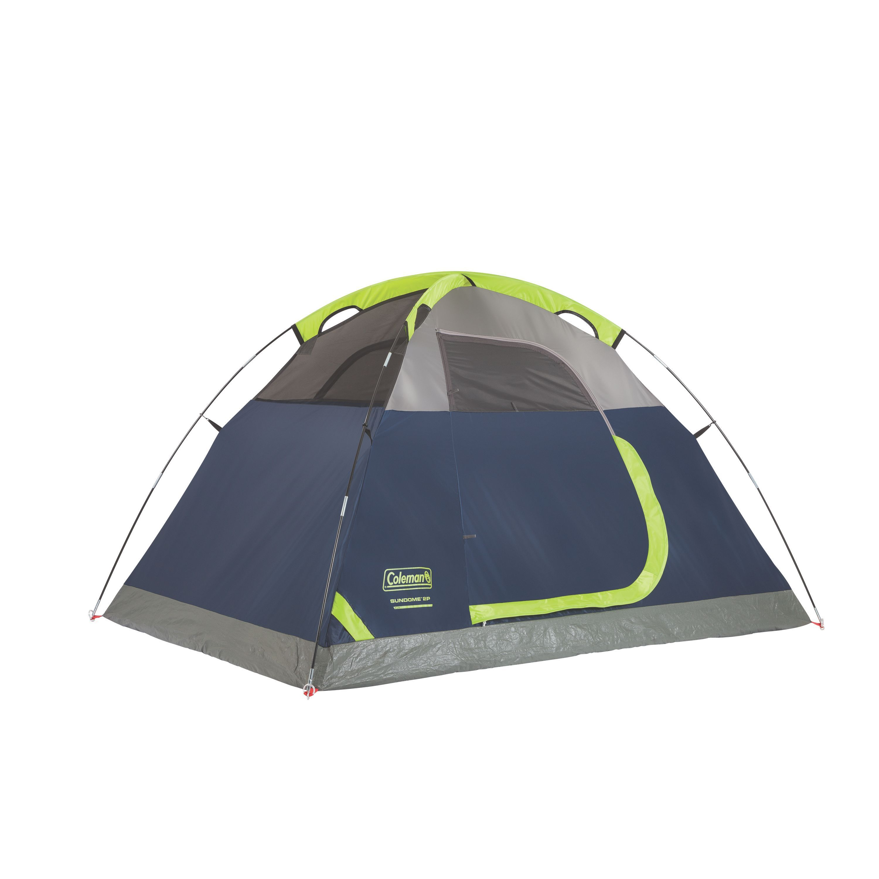 eac6c9c90da Shop Coleman Sundome Blue Nylon and Fabric 2-person Dome Tent - Free  Shipping Today - Overstock - 13778026