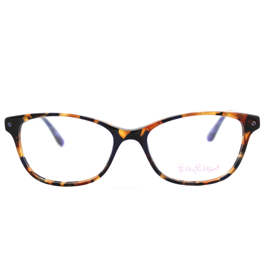 dc6b5bc9d2 Shop Lilly Pulitzer Brynn LP Lapis Tortoise Cat-eye Eyeglasses (51 mm) -  Free Shipping Today - Overstock - 13784031