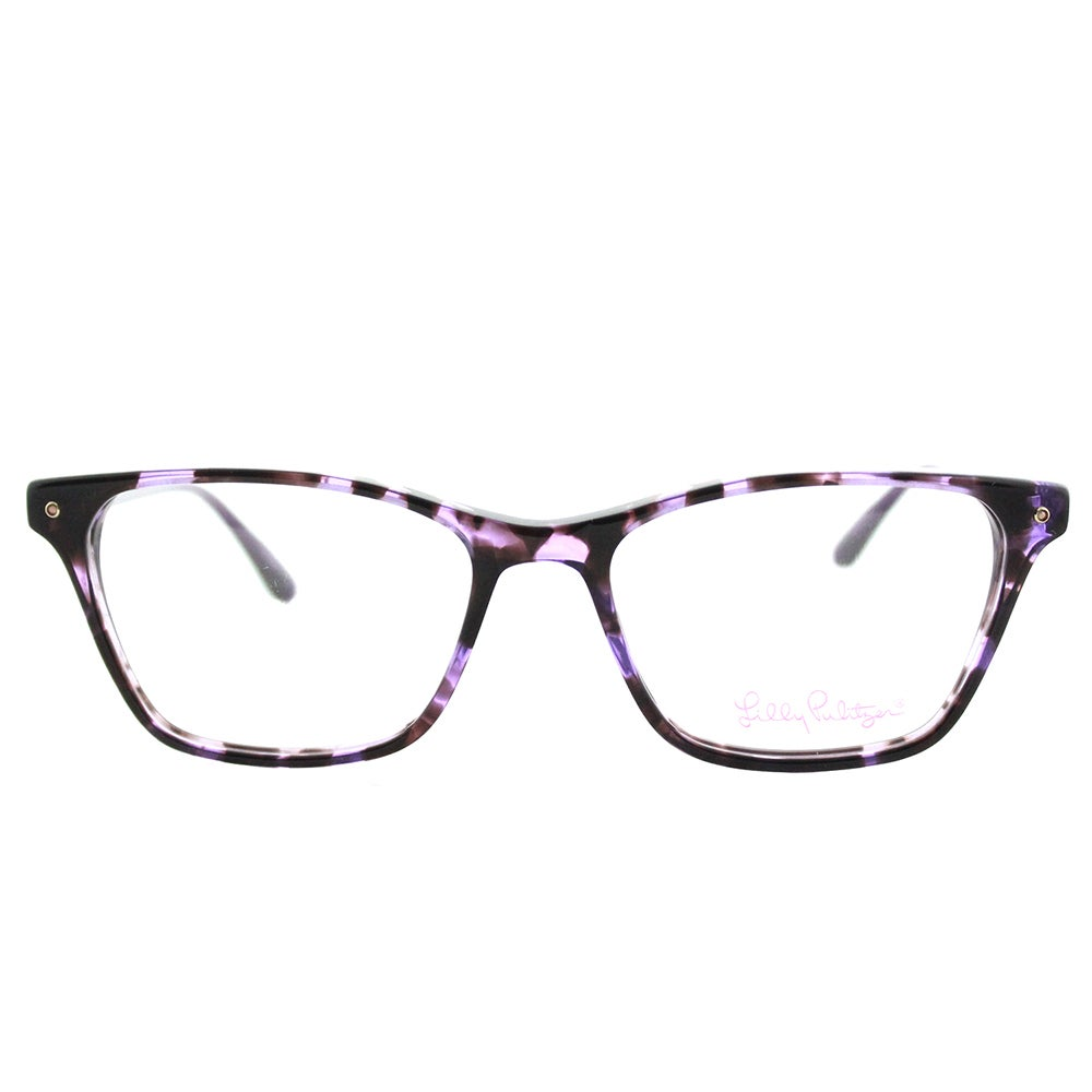 3b63fa4a622 Shop Lilly Pulitzer  Whiting  Purple Tortoise Rectangular Eyeglasses (49 mm)  - Free Shipping Today - Overstock - 13784050