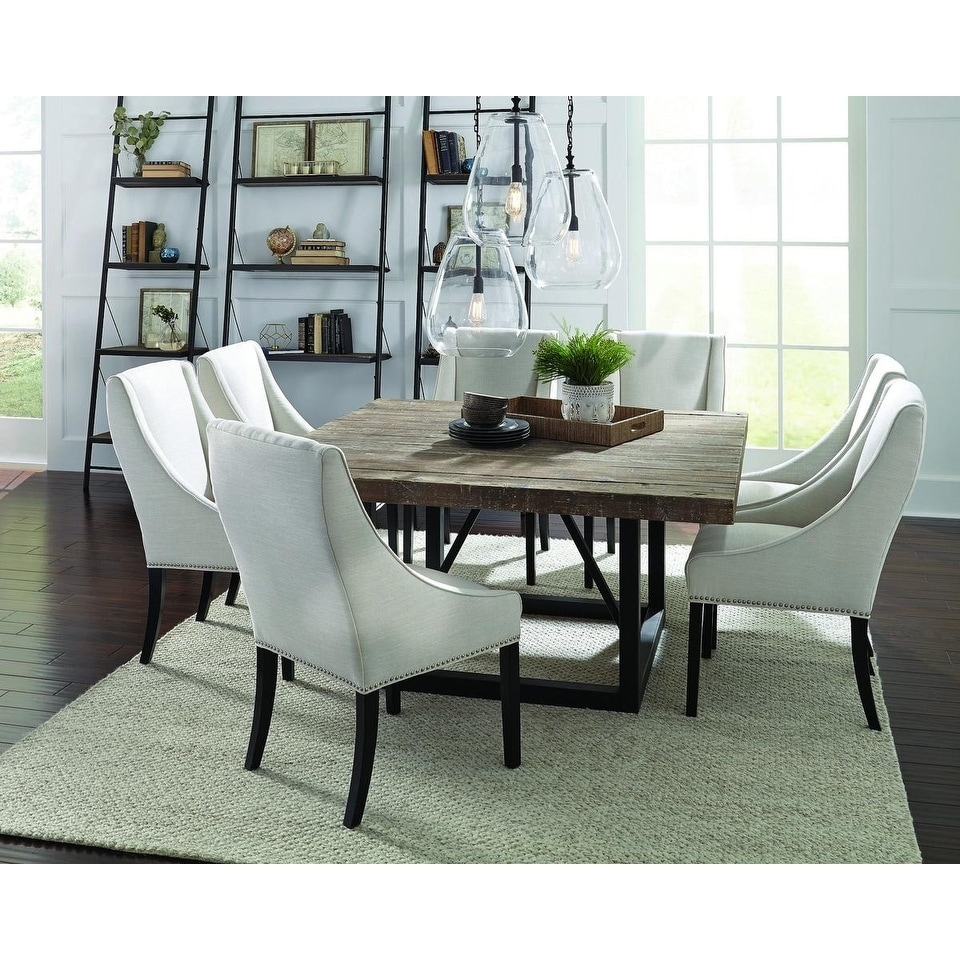 Etonnant Mia Reclaimed Wood 60 Inch Square Dining Table By Kosas Home   Brown