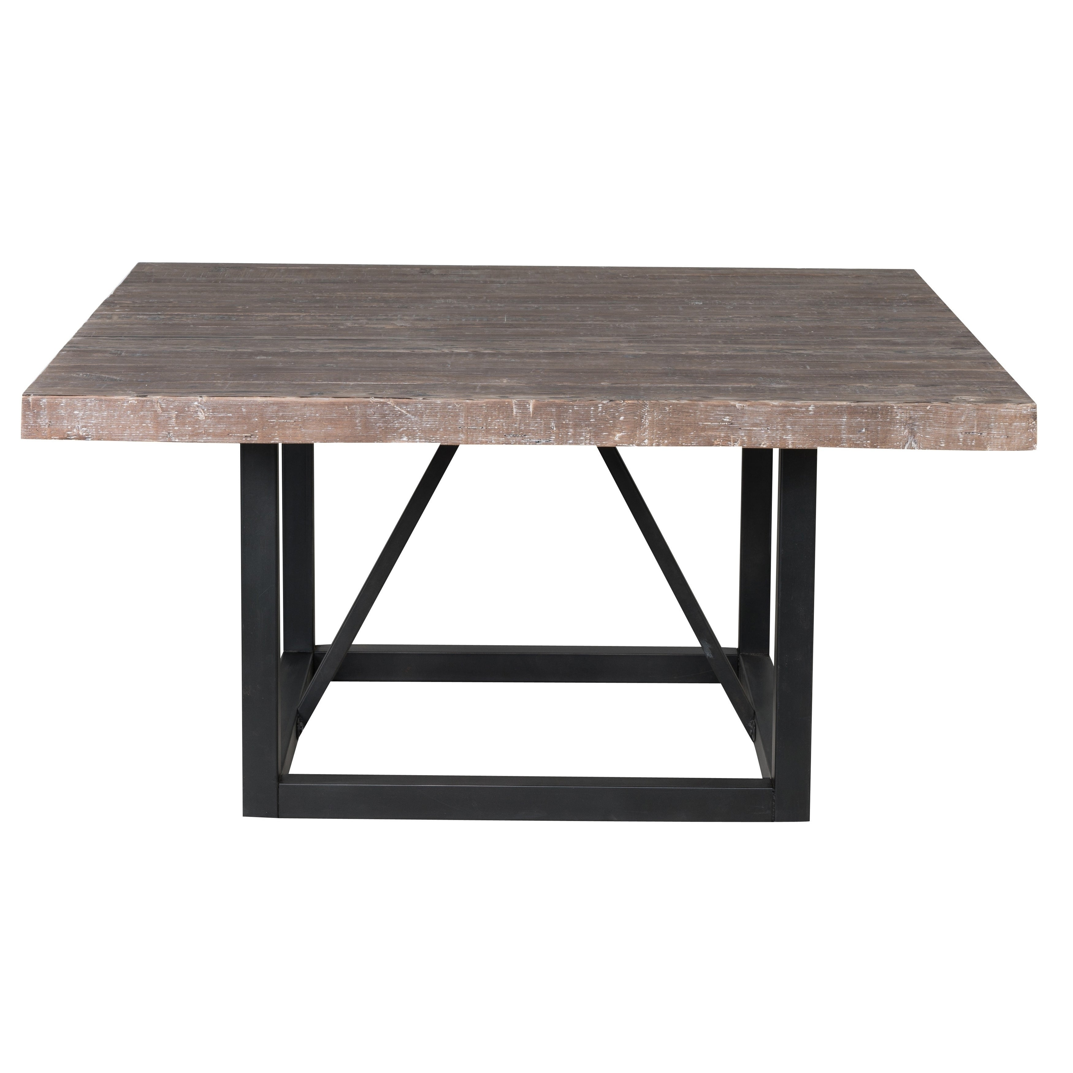 Beau Shop Mia Reclaimed Wood 60 Inch Square Dining Table By Kosas Home   Brown    On Sale   Free Shipping Today   Overstock   13788481