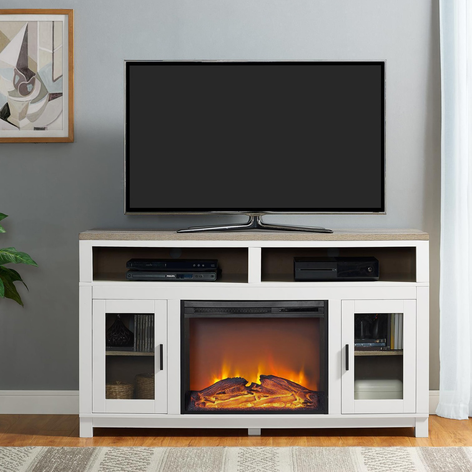 Modern Electric Fireplace Tv Stand Html Amazing Home Design 2019