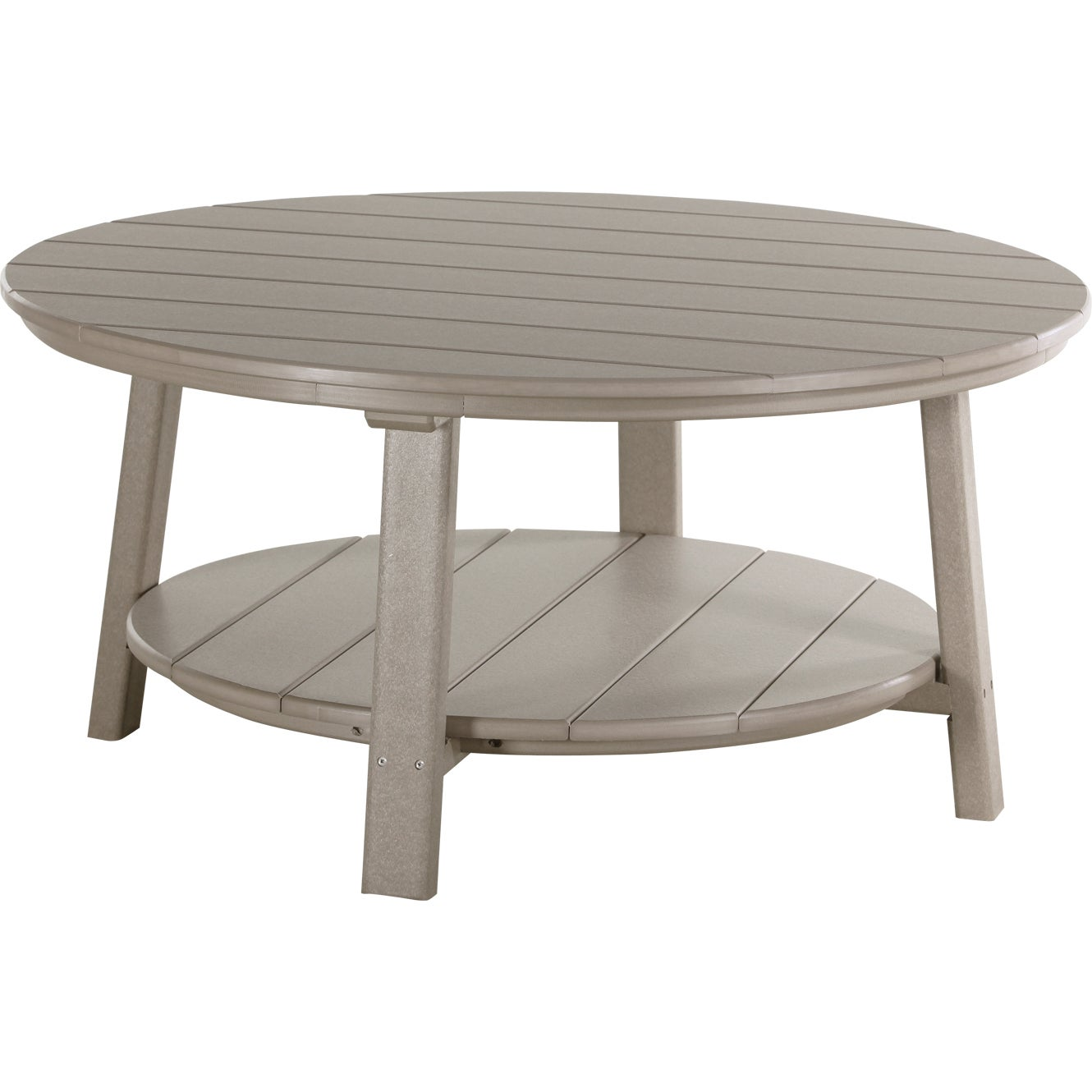 Shop Outdoor Poly Deluxe Round Conversation / Coffee Table - On Sale - Free  Shipping Today - Overstock.com - 13798409 - Shop Outdoor Poly Deluxe Round Conversation / Coffee Table - On Sale