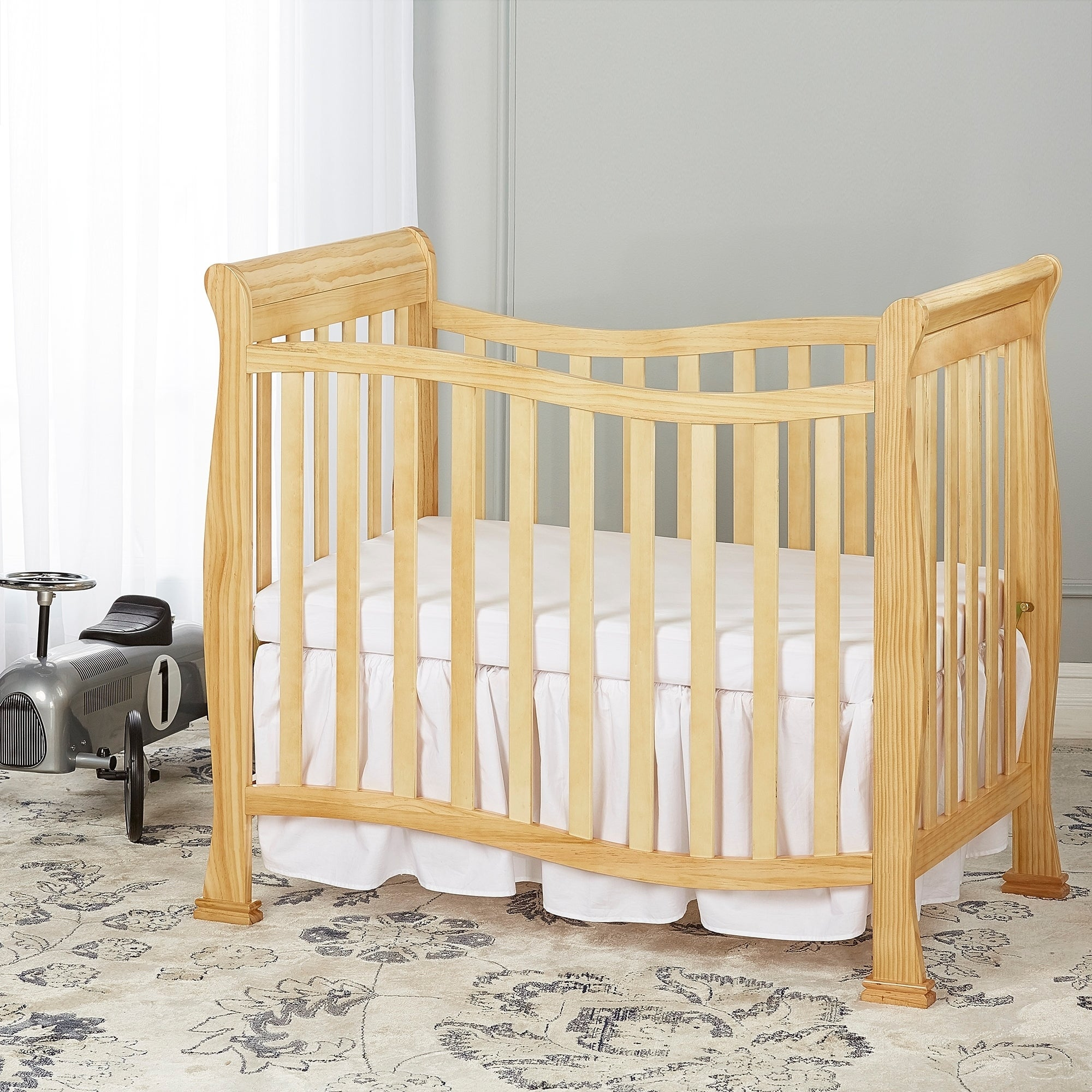 antique baby hideaway foundations amazon natural com finish crib folding dp sized cherry compact