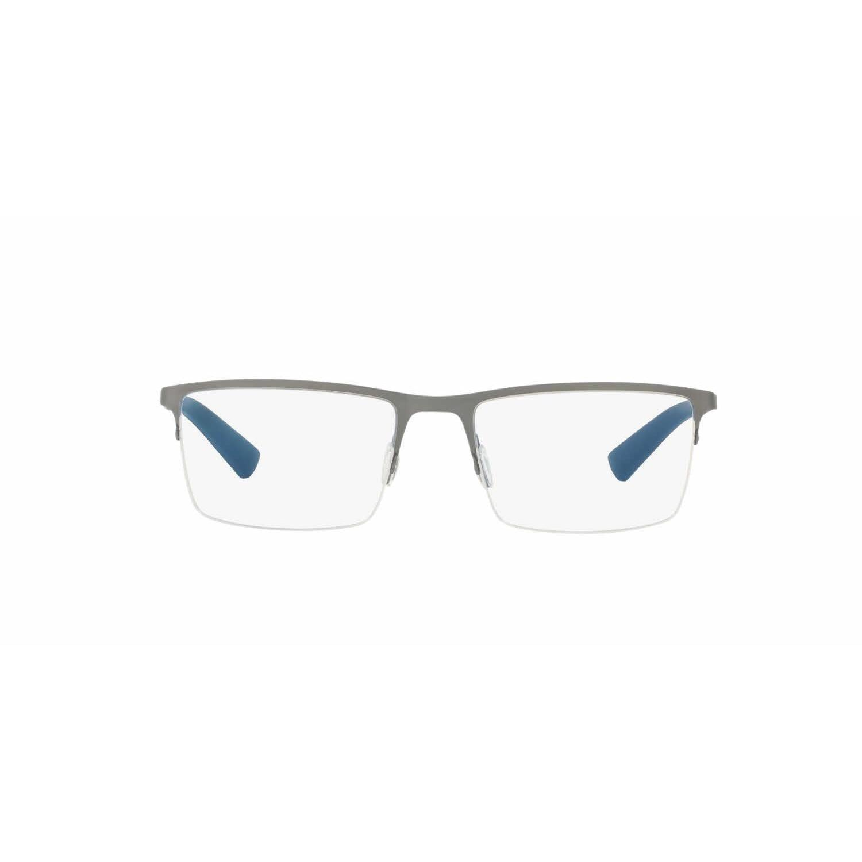 4201c670b19e Shop Dolce   Gabbana Mens DG1284 1262 Metal Rectangle Eyeglasses - Grey -  Free Shipping Today - Overstock.com - 13805940