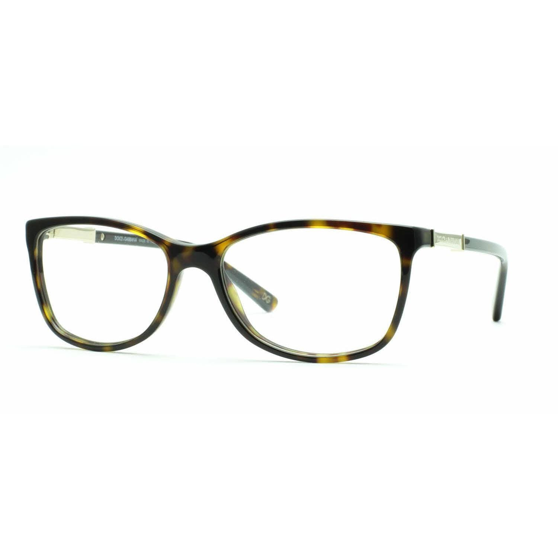 de49e4400dc Shop Dolce   Gabbana Womens DG3107 LOGO PLAQUE 502 Havana Plastic Rectangle  Eyeglasses - Tortoise - Free Shipping Today - Overstock.com - 13805945