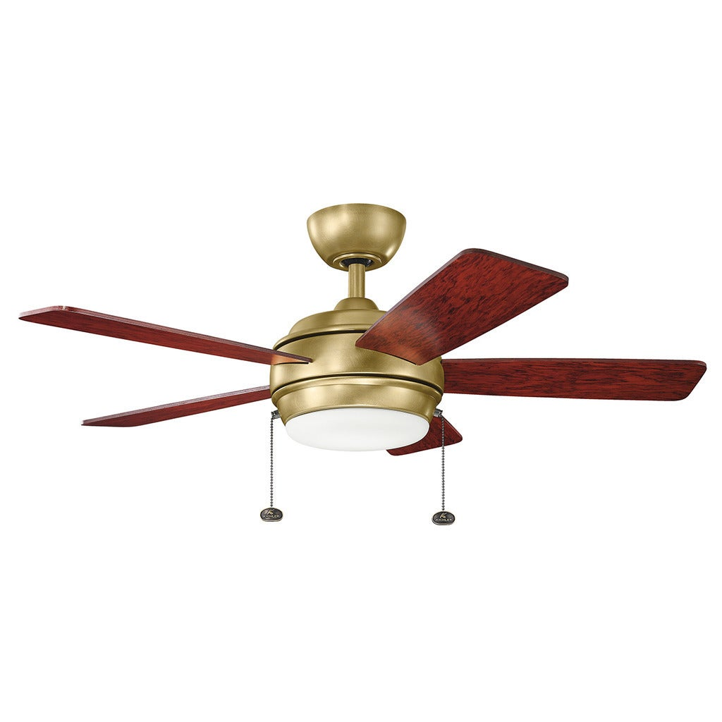 item lighting cased finish in steel magnifying fan opal stainless cfm ceiling brushed image kichler ii glass rivetta capitol inch shown blade and
