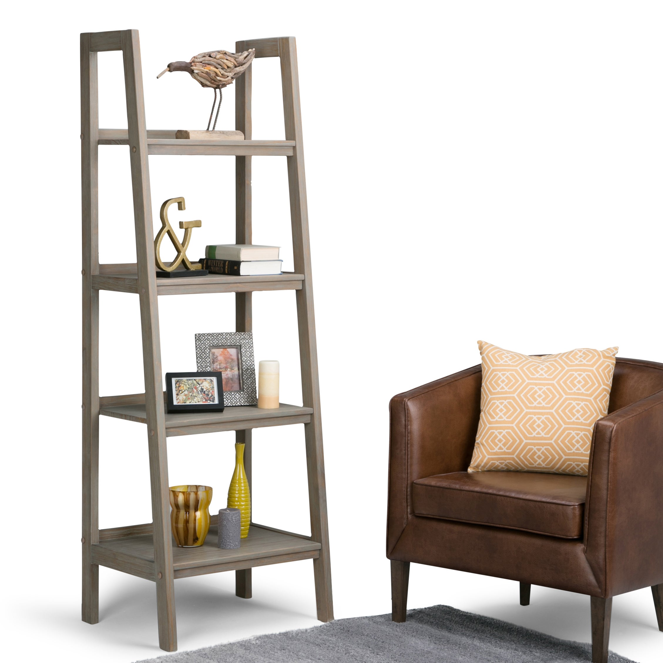 Wyndenhall Hawkins Ladder Shelf  Free Shipping Today  Overstockcom