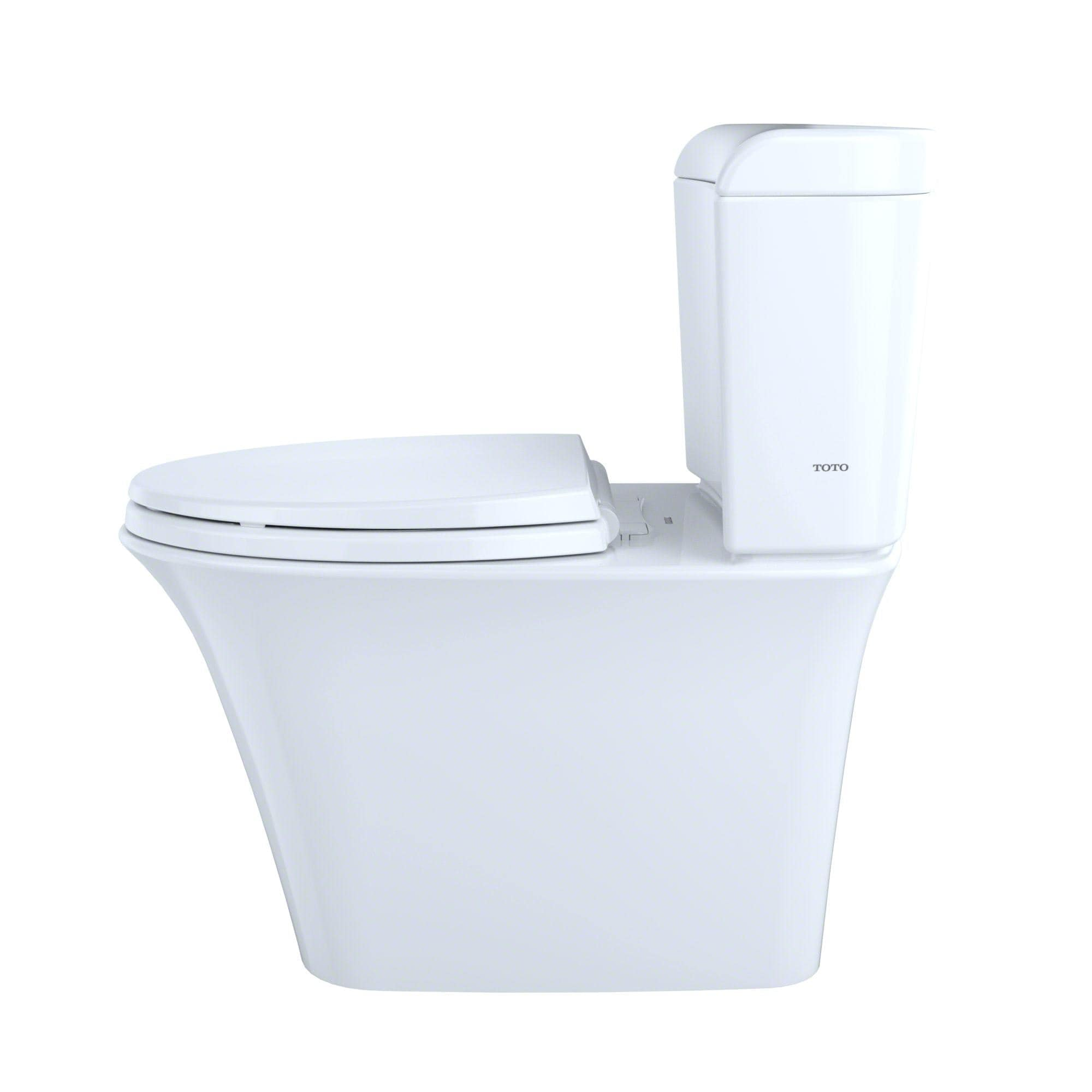 Toto Maris Toto Dual Flush Cotton White China Toilet - Free Shipping ...