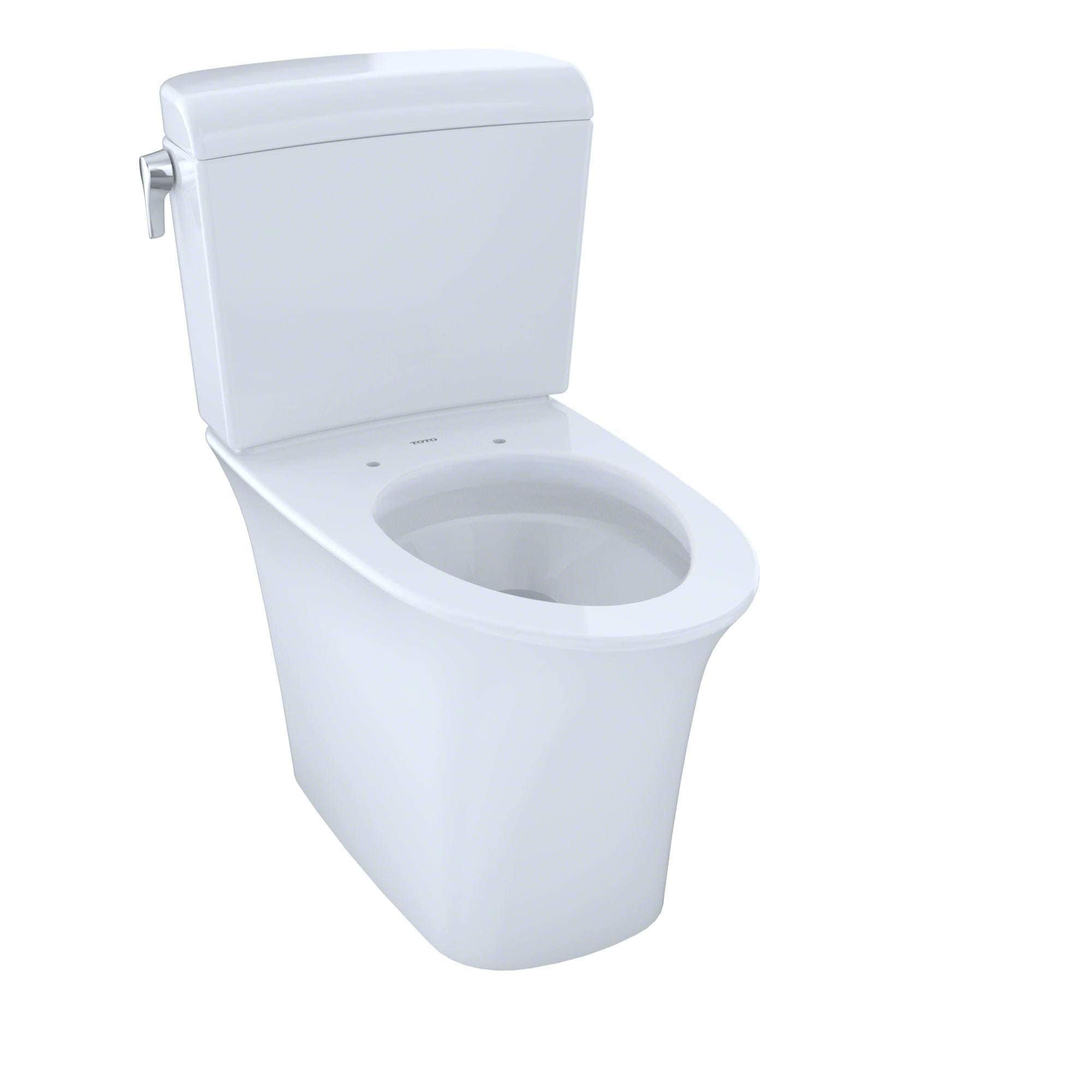 Toto Maris Toto Dual Flush Cotton White China Toilet - Free Shipping ...
