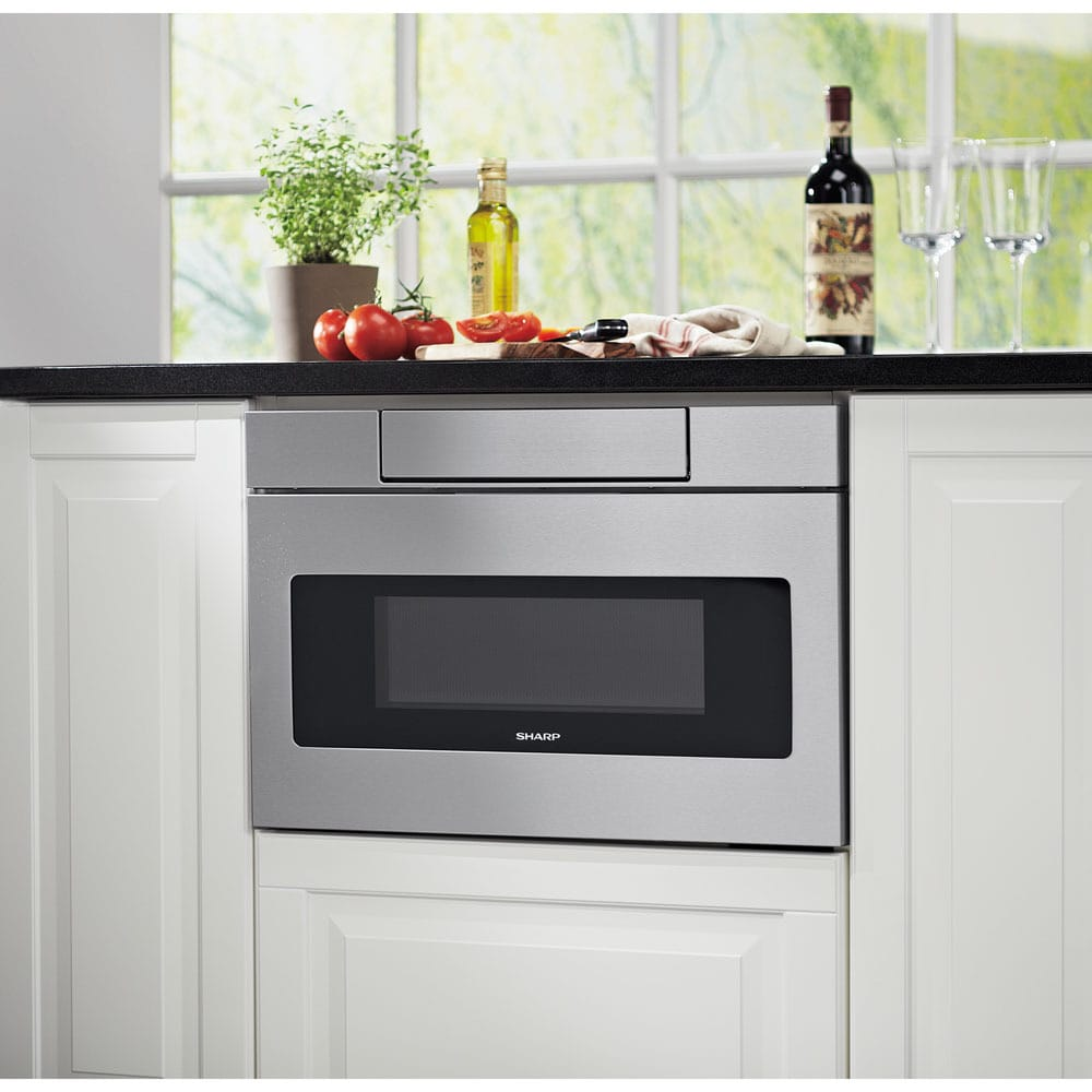 tran microwaves steel easy wave top sharp forhome open microwave drawer stainless models homeappliances