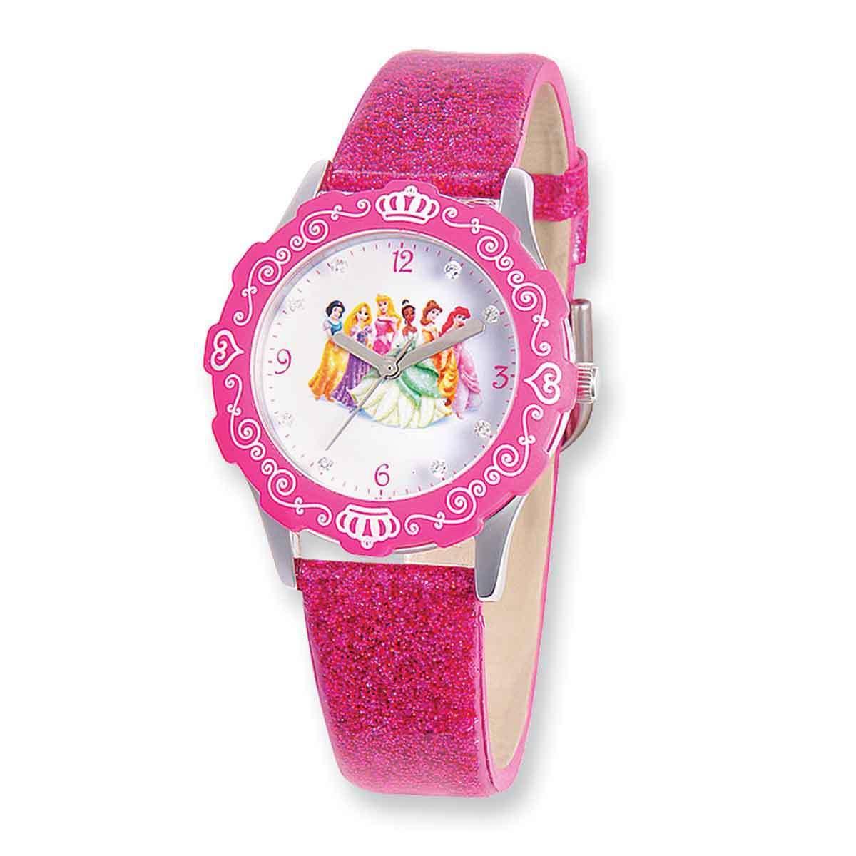 Shop Disney Princess Glitz Pink Band Tween Watch - Free Shipping ...