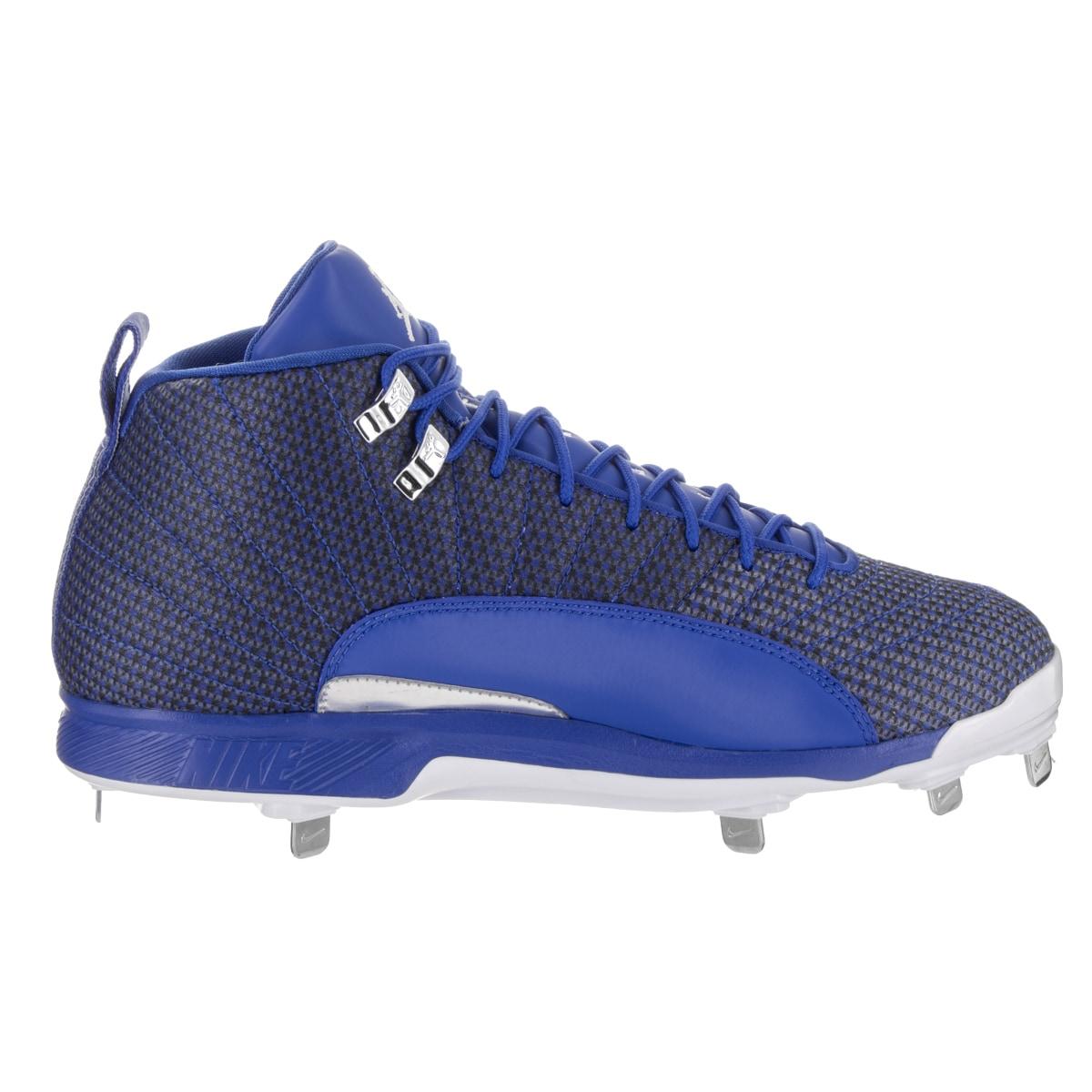 the latest 4630b 337e0 Shop Nike Jordan Men s Jordan XII Retro Metal Baseball Cleats - Free  Shipping Today - Overstock - 13831228