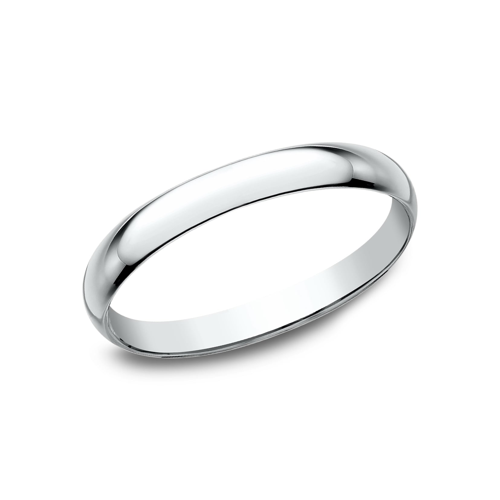Women S 10k White Gold Traditional Fit Wedding Band On Free Shipping Today 13842423