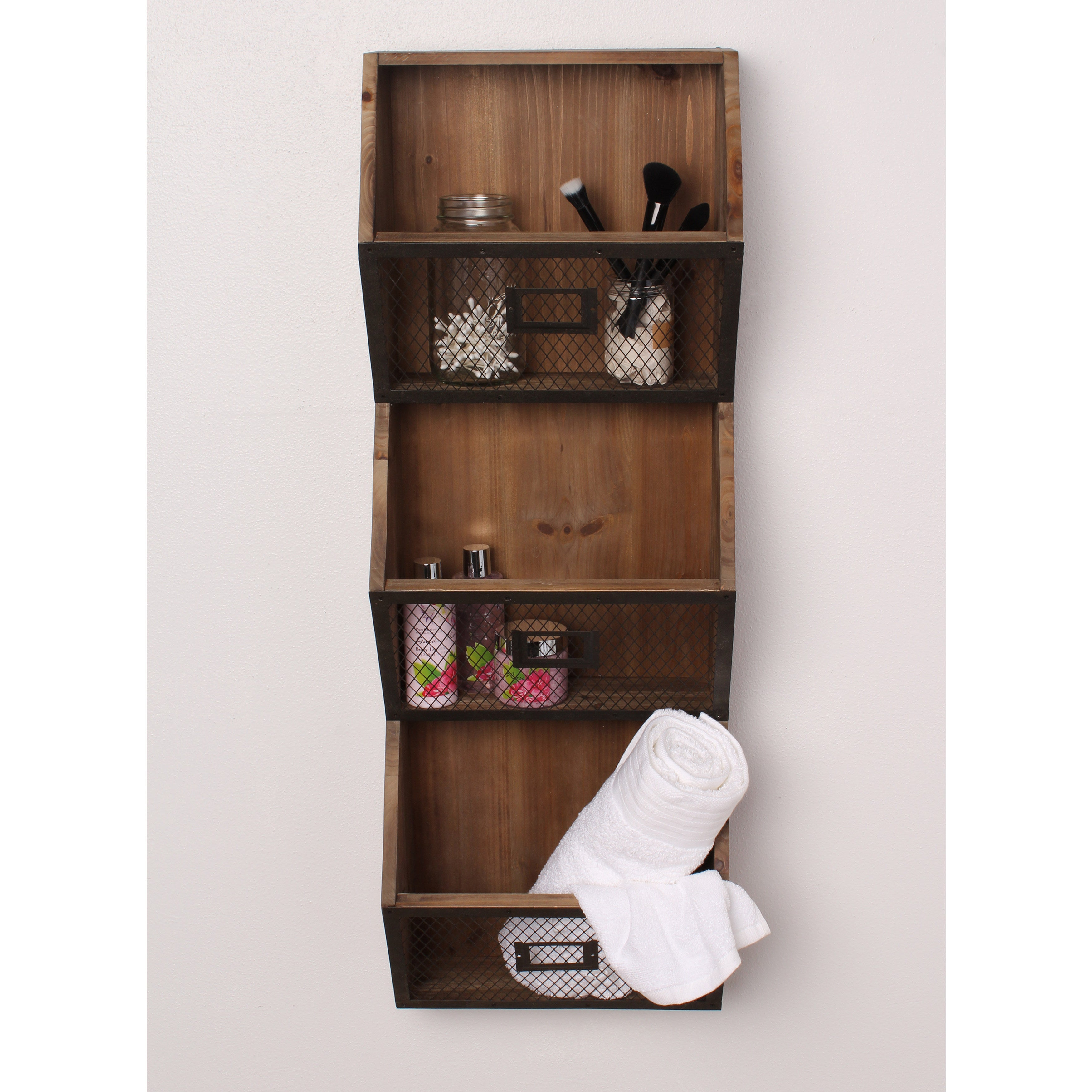 Shop Designovation Burdock Vertical Wall Storage Pockets   On Sale   Free  Shipping Today   Overstock.com   13847005