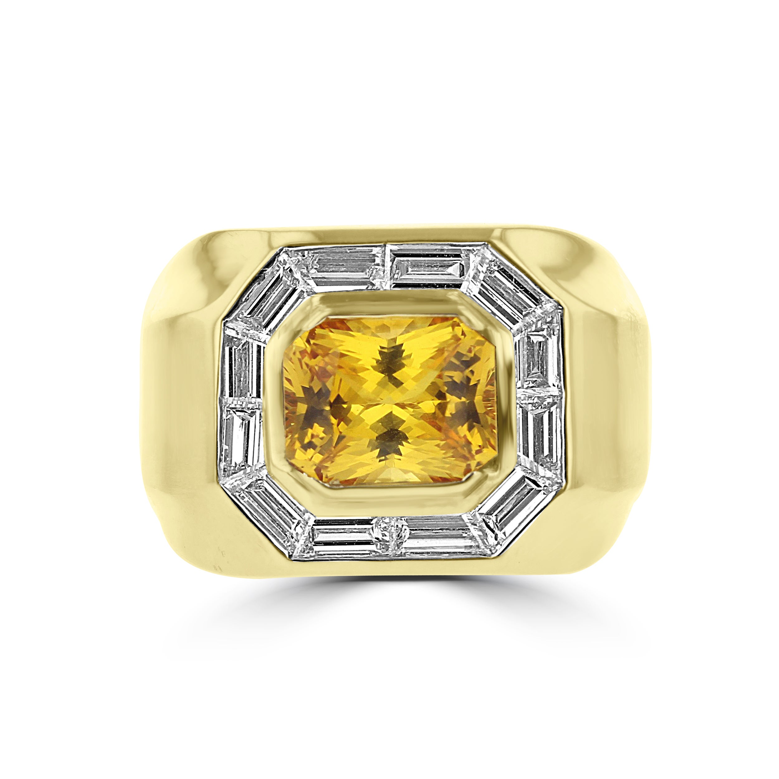gold yellow jewelry and white ring diamond trend sapphire oro golden