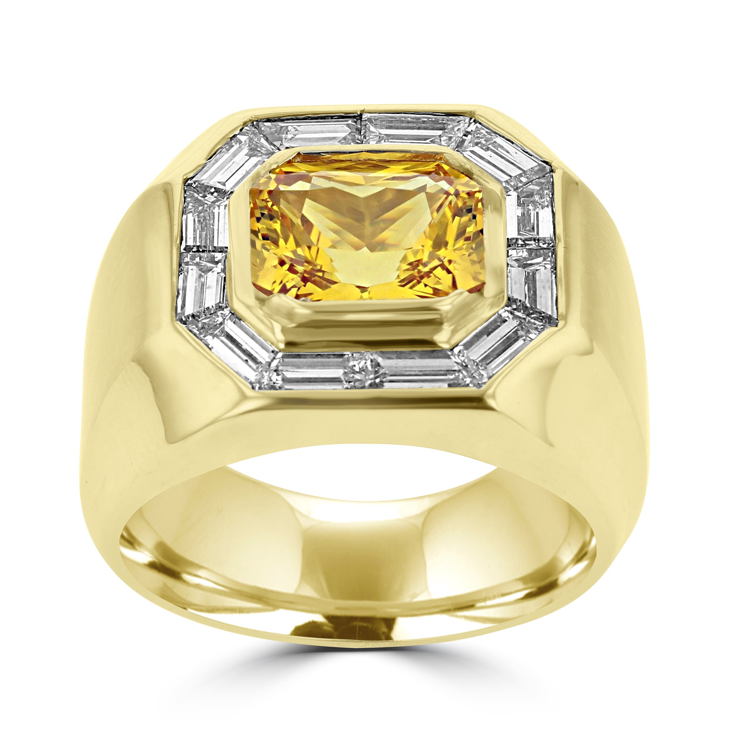 india ring candere mens yellow a kalyan ailbert jewellery jewellers gold company shopping rings online com sapphire