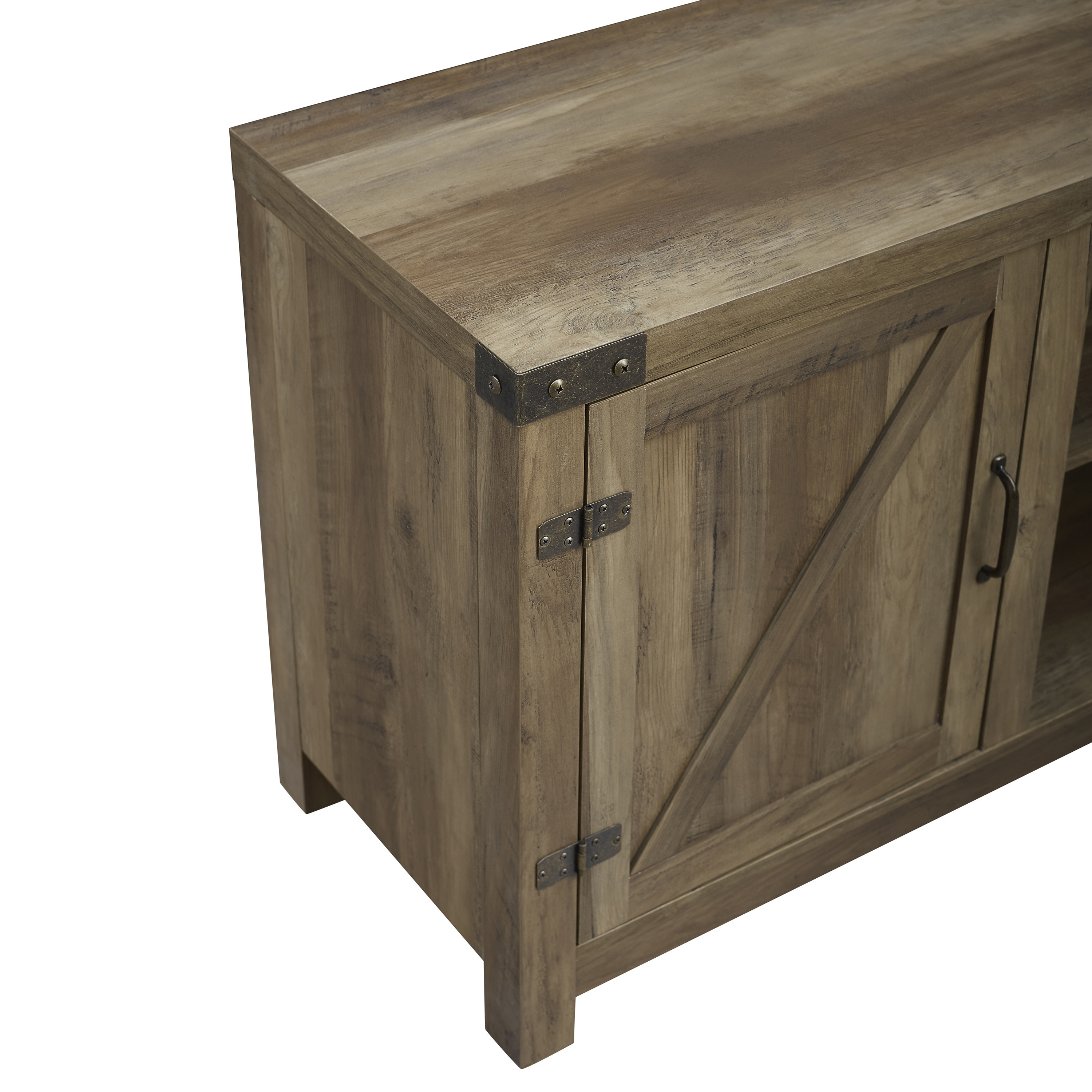 The Gray Barn Firebranch Barn Door TV Stand with Doors - Free Shipping Today - Overstock.com - 20492980  sc 1 st  Overstock & The Gray Barn Firebranch Barn Door TV Stand with Doors - Free ...