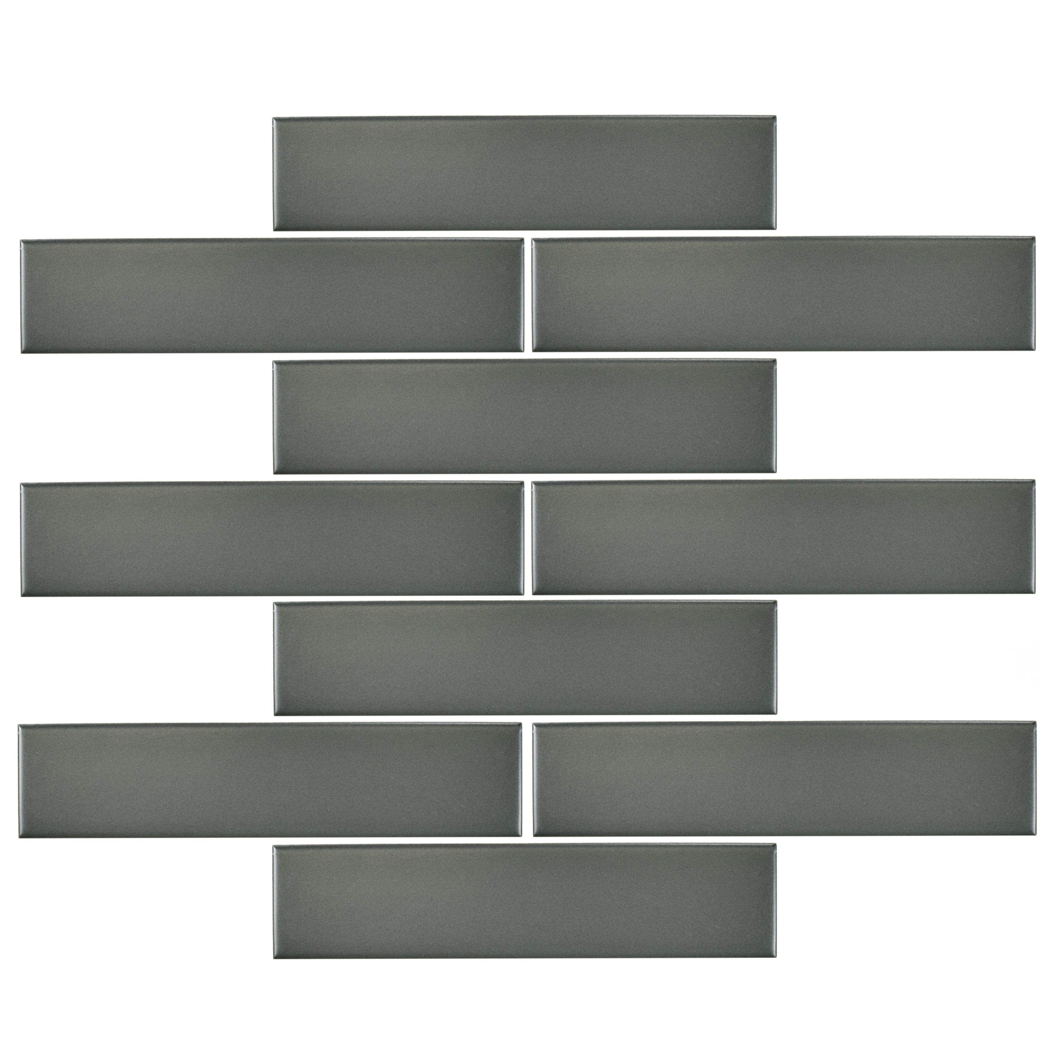 Somertile 175x775 inch victorian soho subway matte grey porcelain somertile 175x775 inch victorian soho subway matte grey porcelain floor and wall tile 10 tiles1 sqft free shipping on orders over 45 dailygadgetfo Choice Image
