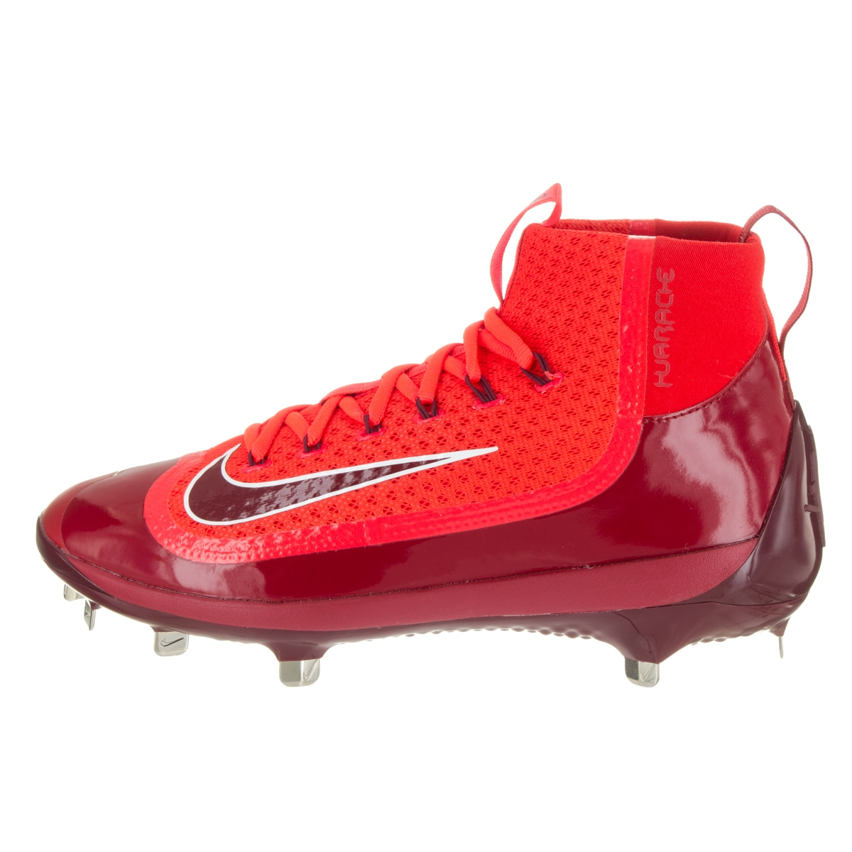 0fe915fd1160 Shop Nike Men s Air Huarache 2KFilth Elite Mid Red Baseball Cleat - Free  Shipping Today - Overstock - 13862817