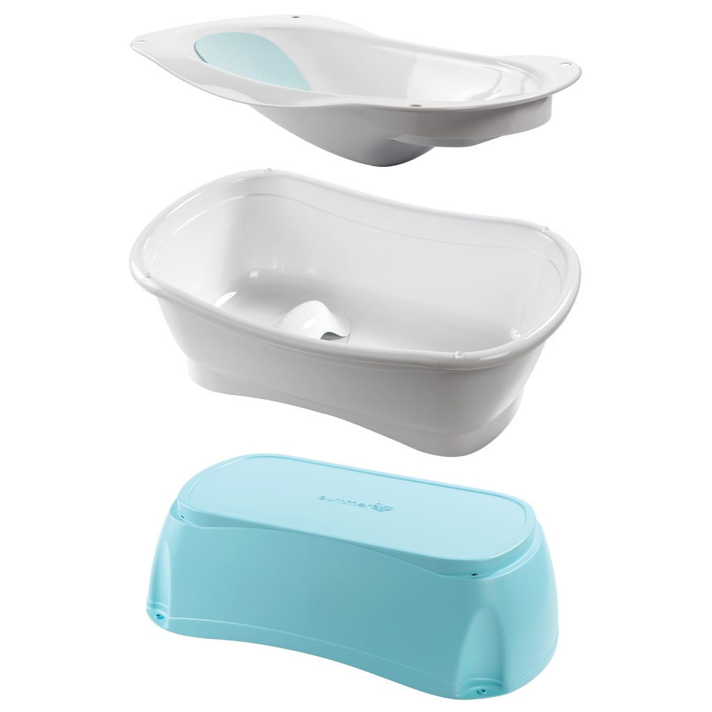Summer Infant Right Height Plastic Bath Tub - Free Shipping Today ...