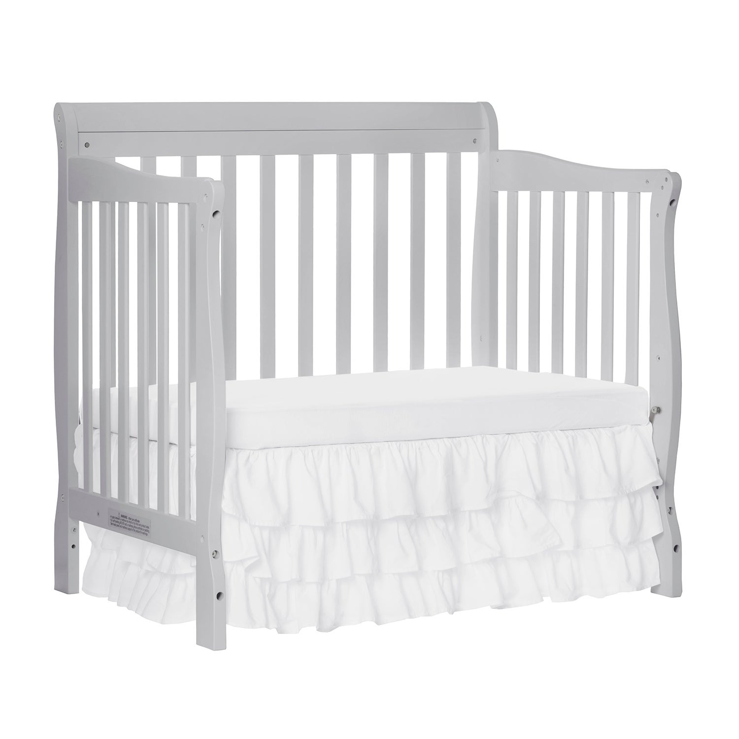 Dream On Me Aden Convertible 4 In 1 Mini Crib Grey Free Shipping Today 13880166