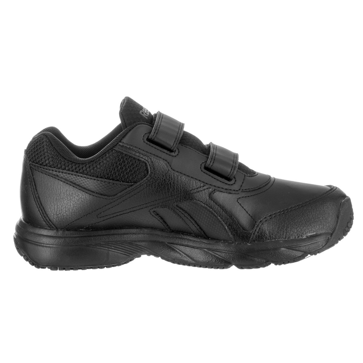 Shop Reebok Women s Work N Cushion KC 2.0 Black Leather Casual Shoe - Free  Shipping Today - Overstock.com - 13881307 bce6ad881