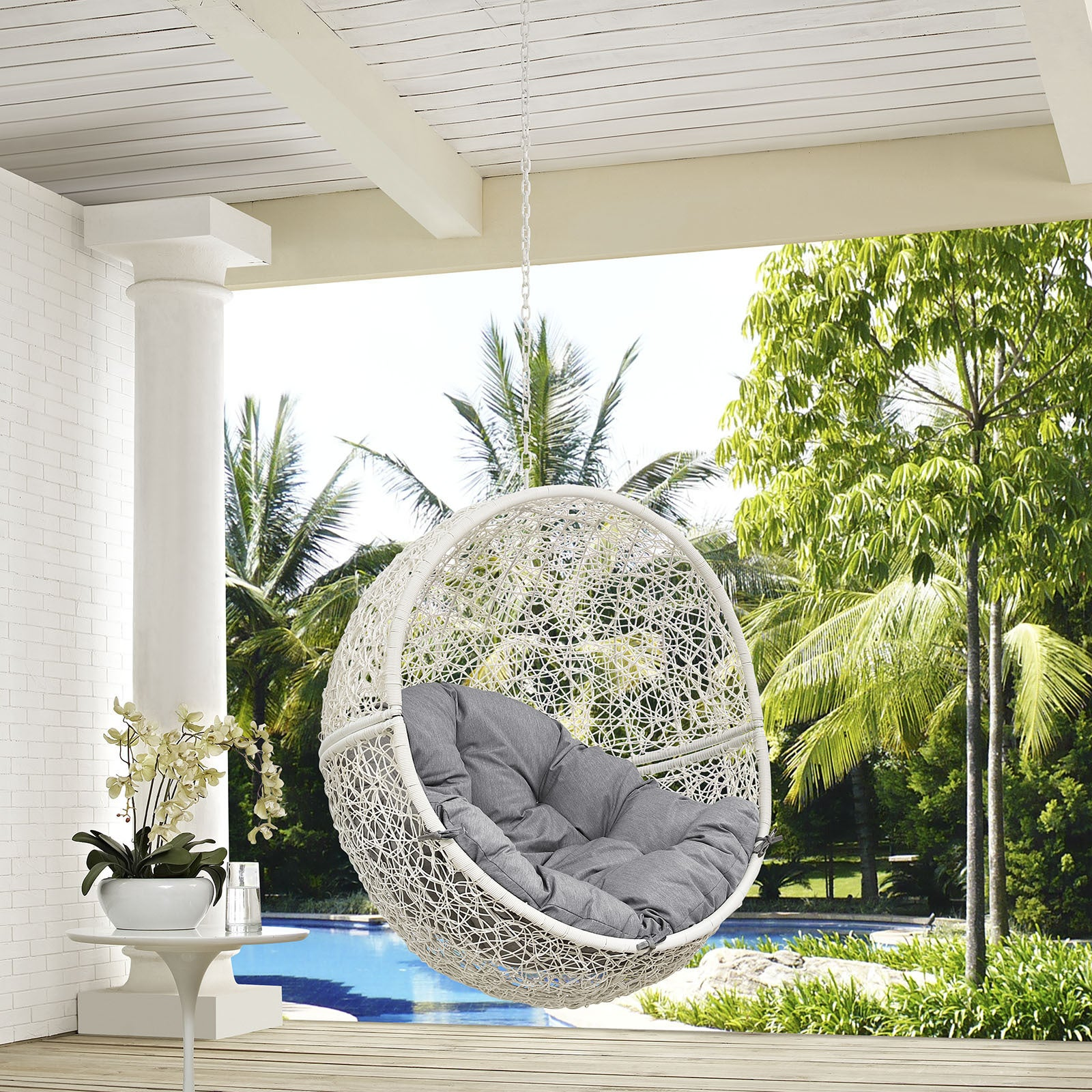 Shop Hide Outdoor Patio Swing Chair - Free Shipping Today ...