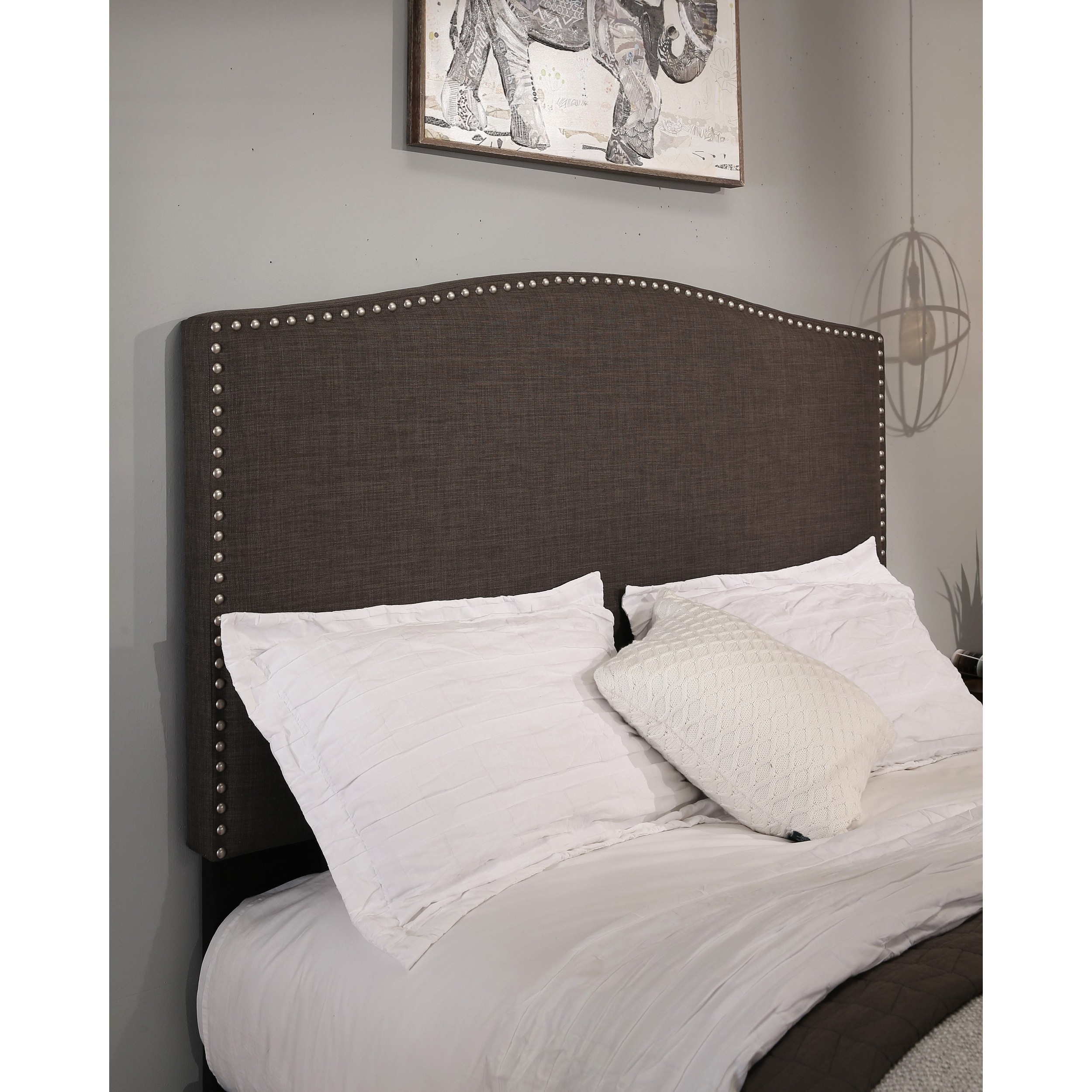 grey headboard gray king headboards bed decorating tall modern jpg dazzling size velvet wonderful upholstered fabric full tufted with storage