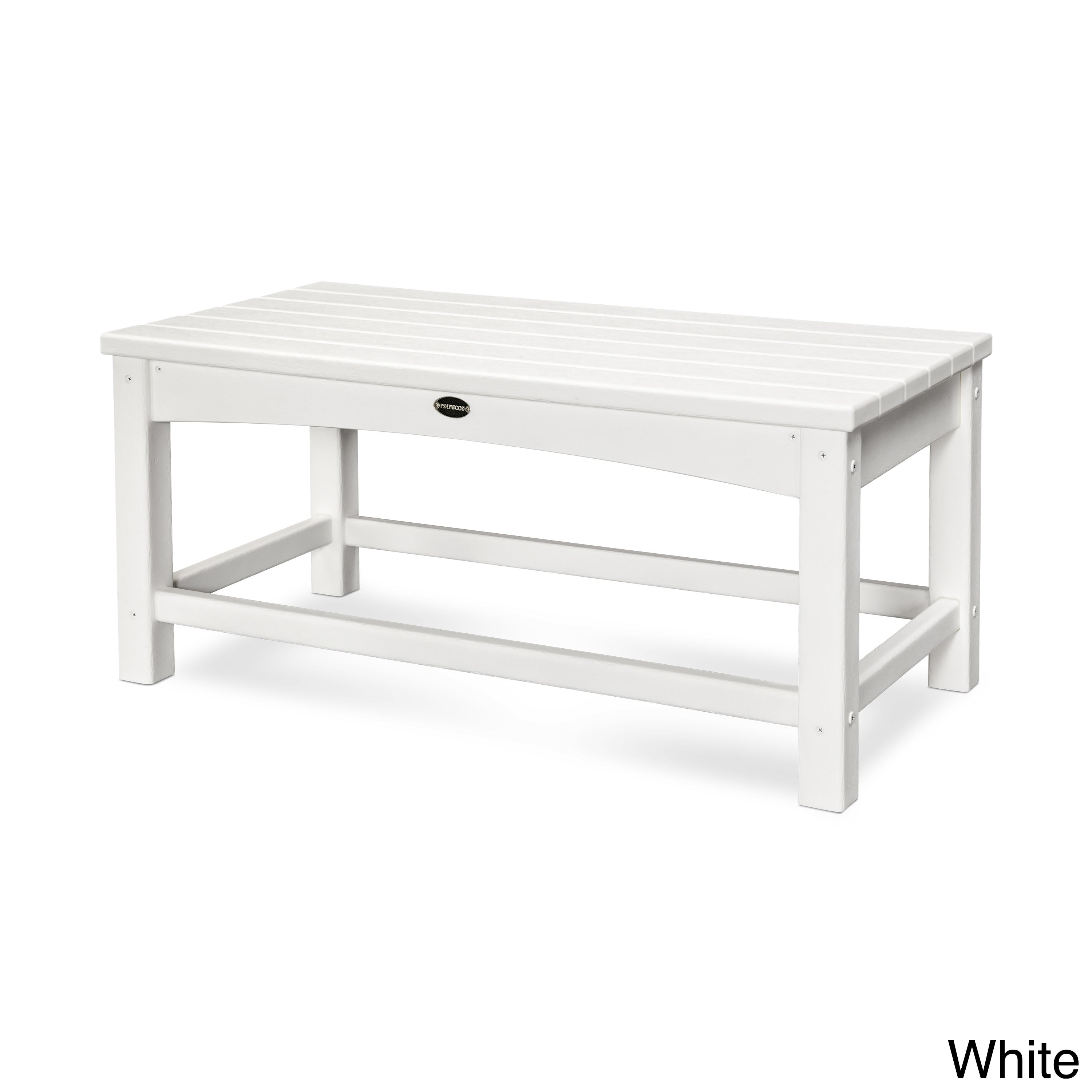 Shop Polywood Club Coffee Table Free Shipping Today Overstock - Polywood coffee table