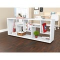 Inval Contemporary Room Divider/ Bookcase