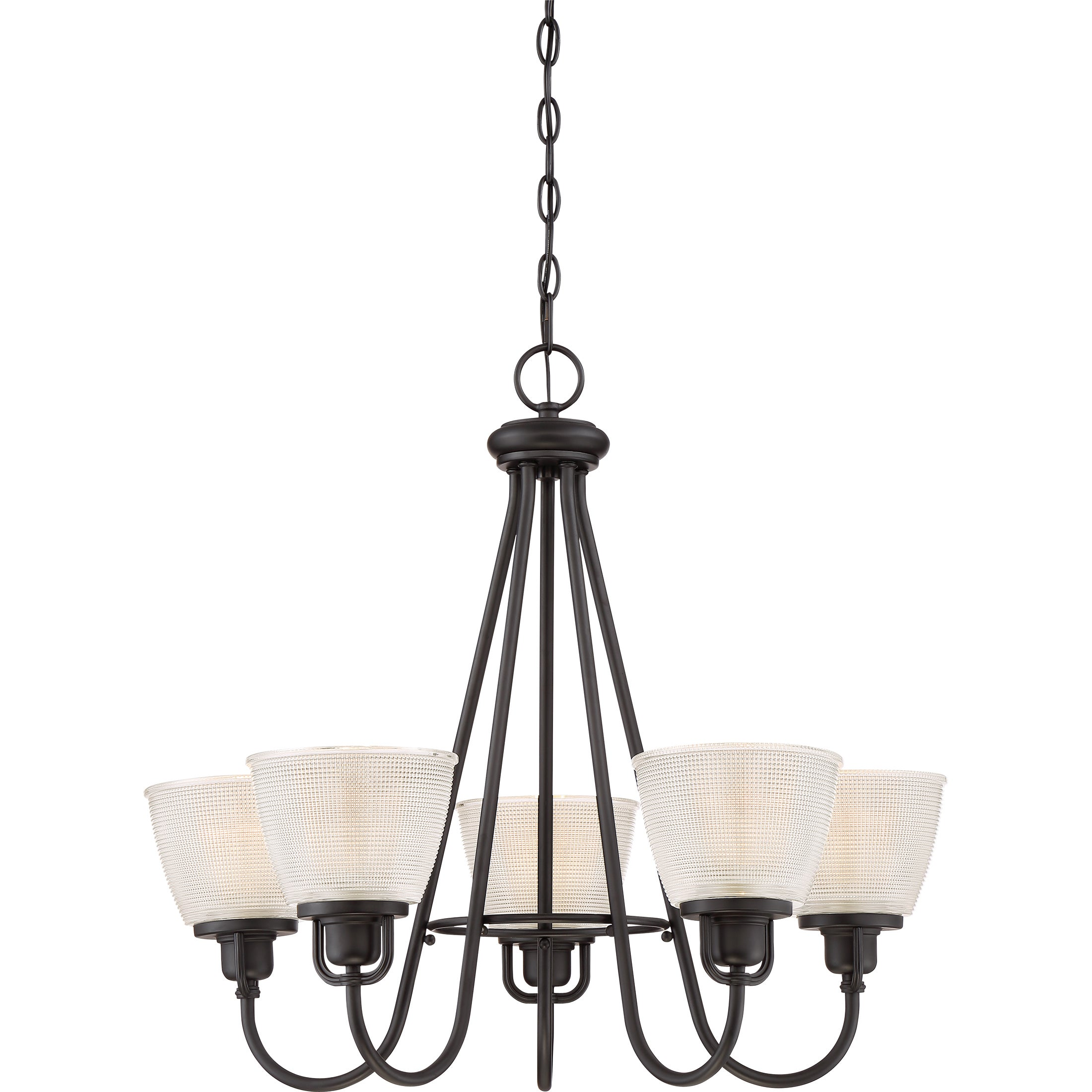 Shop quoize dublin mystic black steel 5 light chandelier free shipping today overstock com 13914740