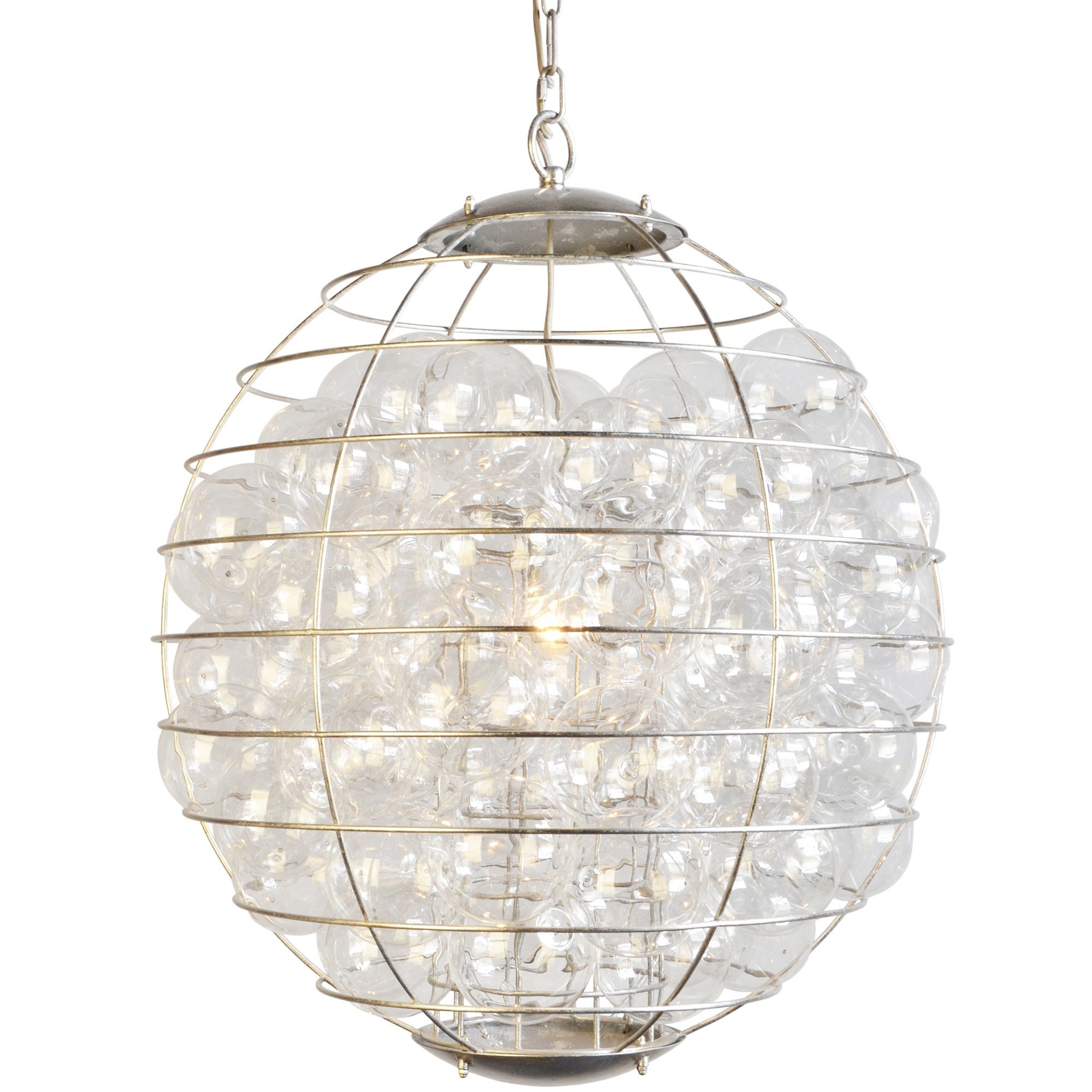 Y decor thomas dusty gold metal 1 light multi globe chandelier