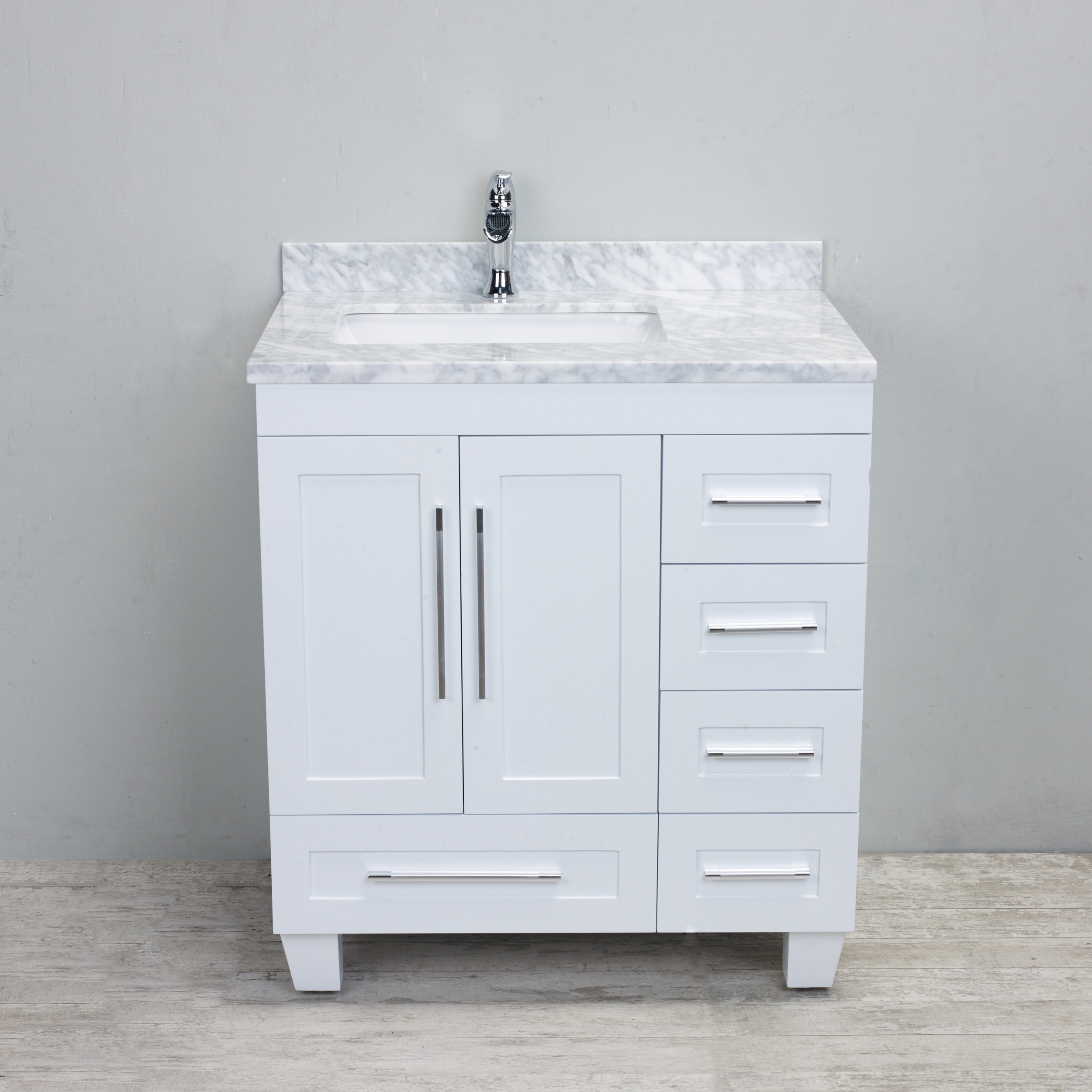 vanity transitional tops white vanities inch home included with bathroom marble